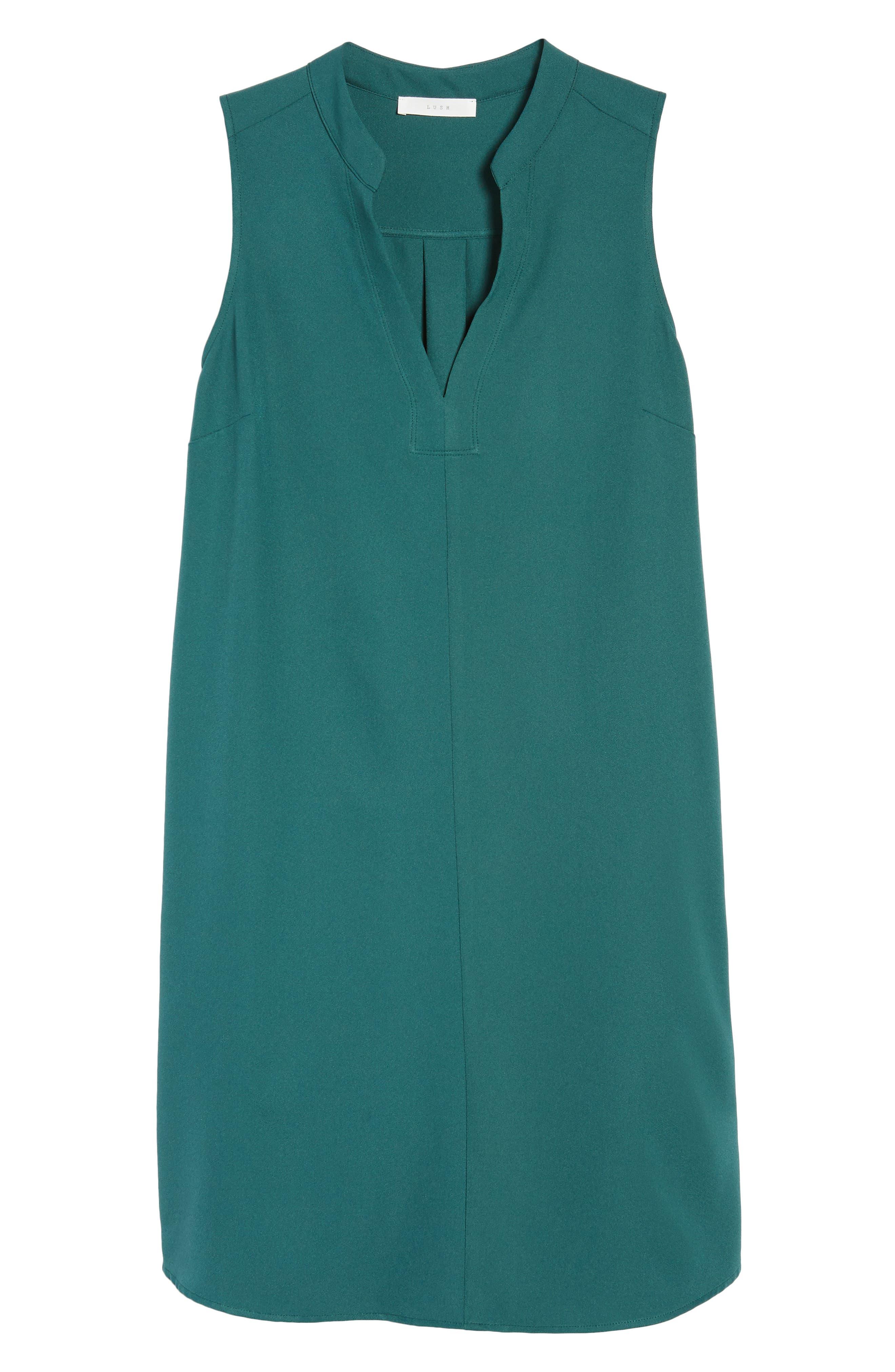 Taylor Shift Dress,                             Alternate thumbnail 6, color,                             Green Bug