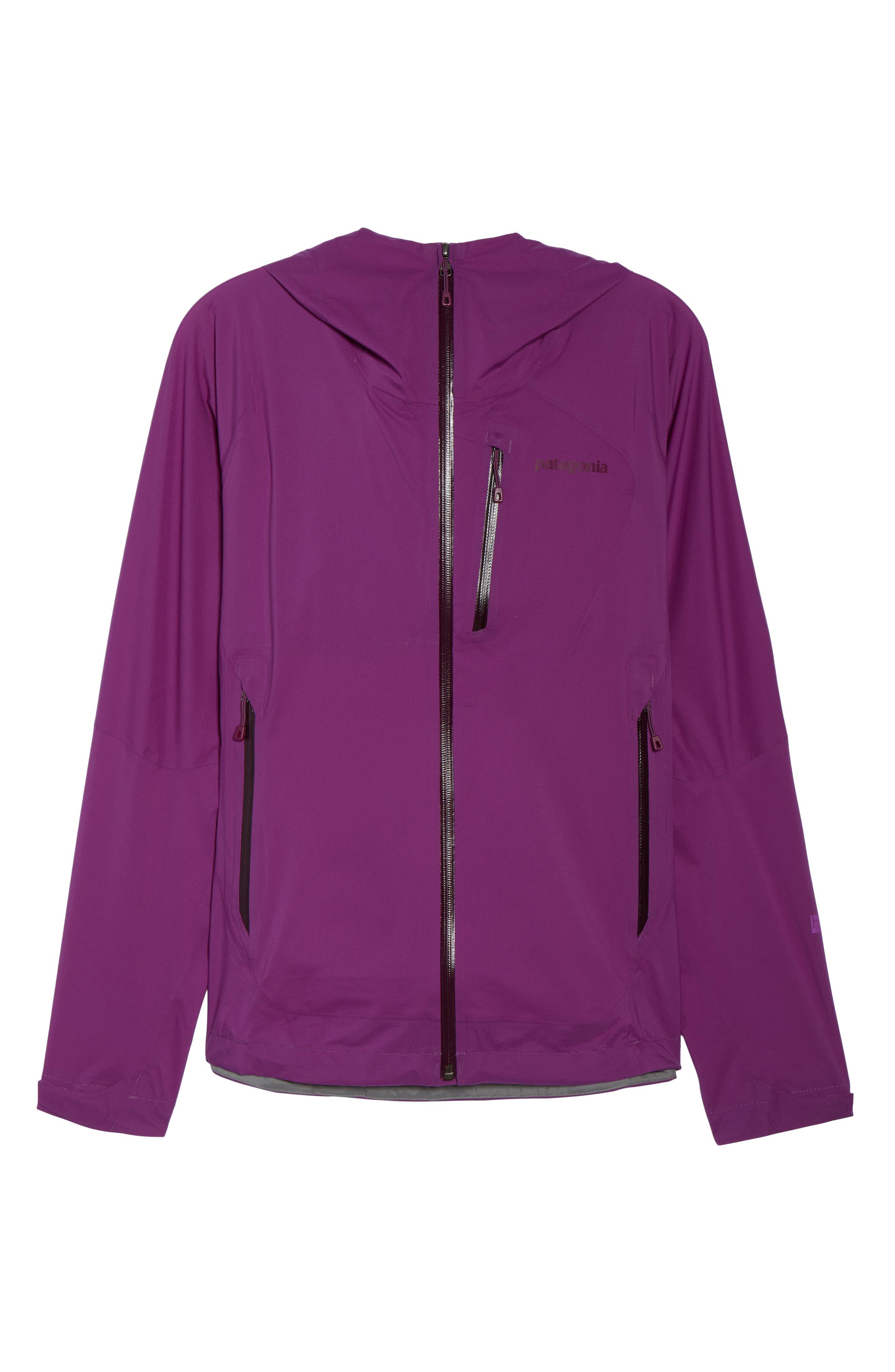 Stretch Rainshadow Jacket,                             Alternate thumbnail 7, color,                             Ikat Purple