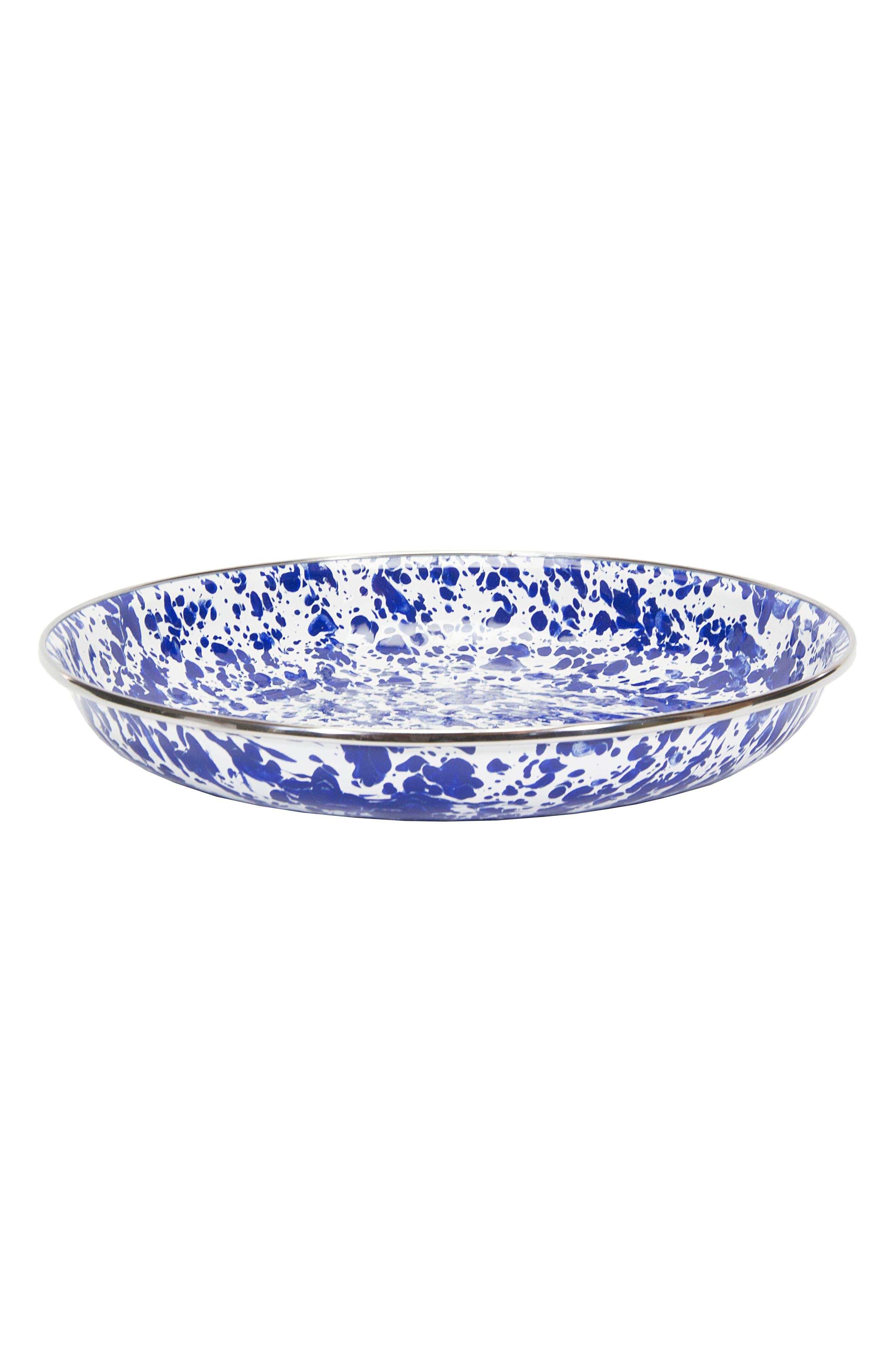 Pasta Plate,                         Main,                         color, Blue Swirl