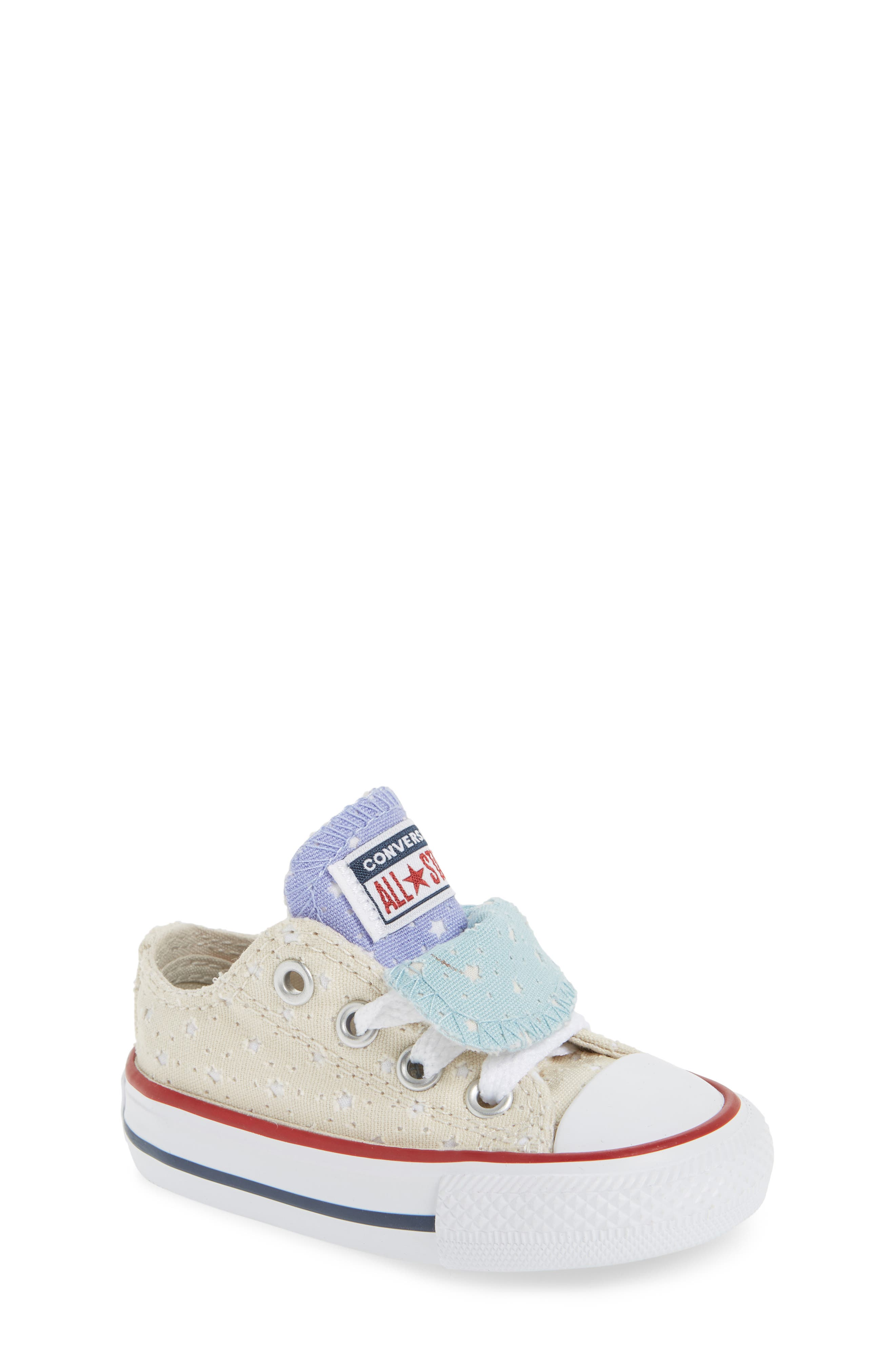 Converse Chuck Taylor® All Star® Double Tongue Sneaker (Baby, Walker, Toddler, Little Kid & Big Kid)