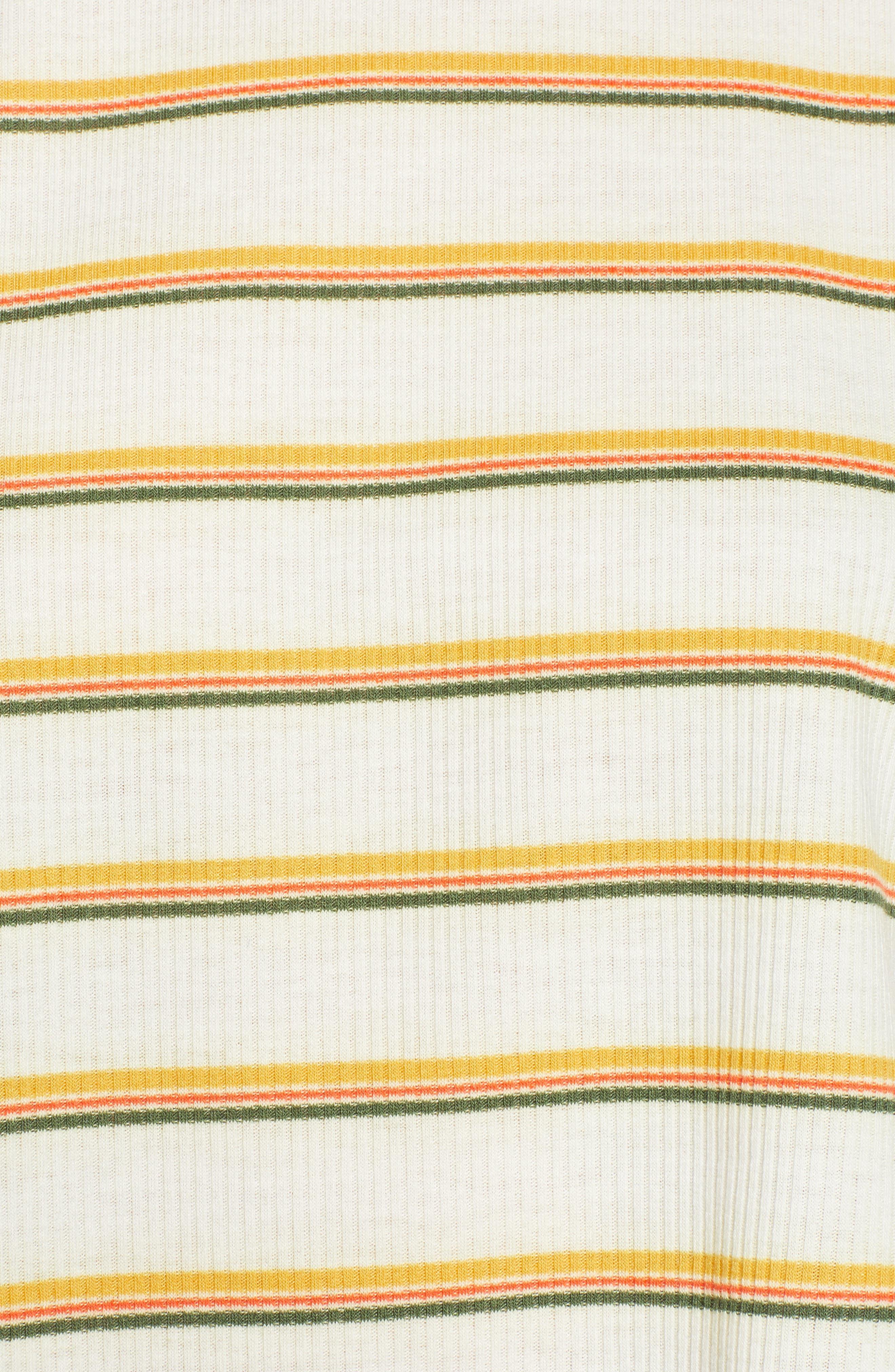 Ringer Tee,                             Alternate thumbnail 3, color,                             Stripe