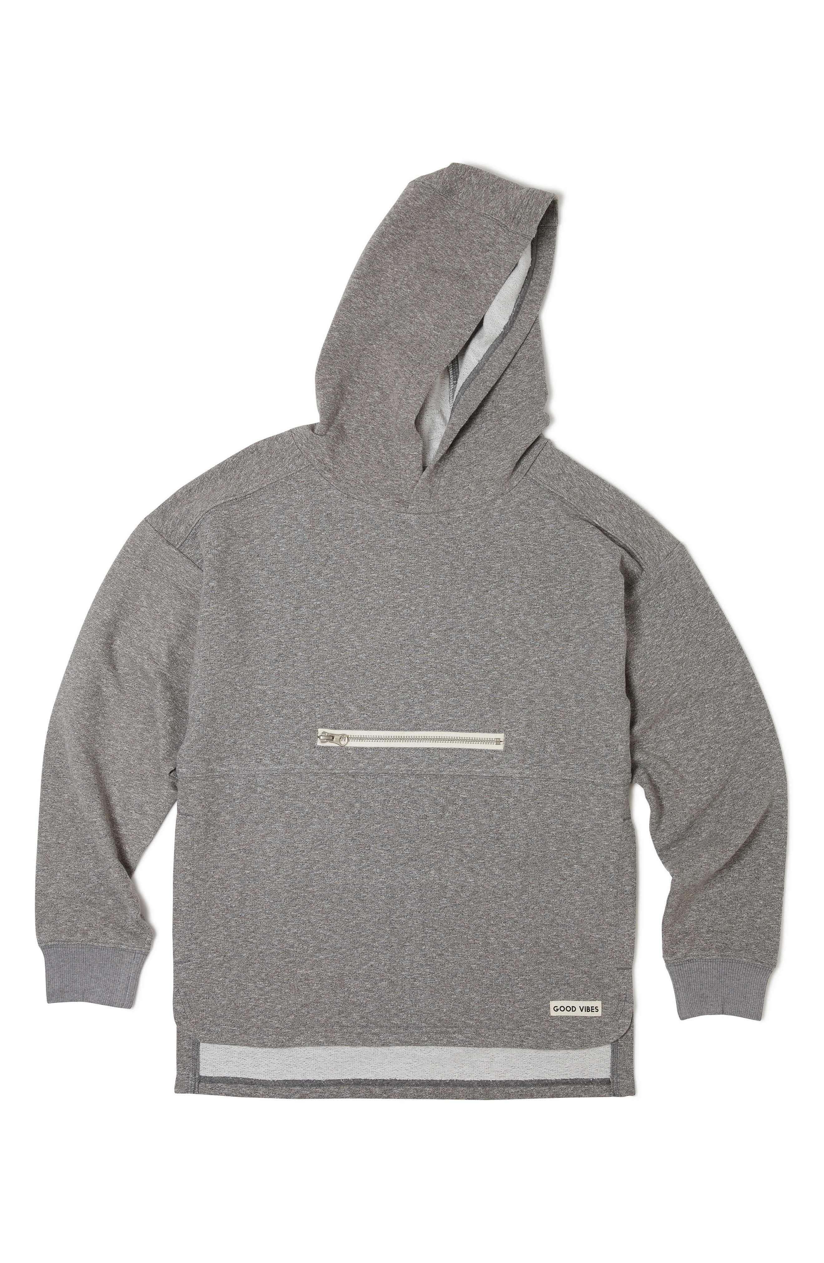 Cruise Hoodie,                         Main,                         color, Heather Grey