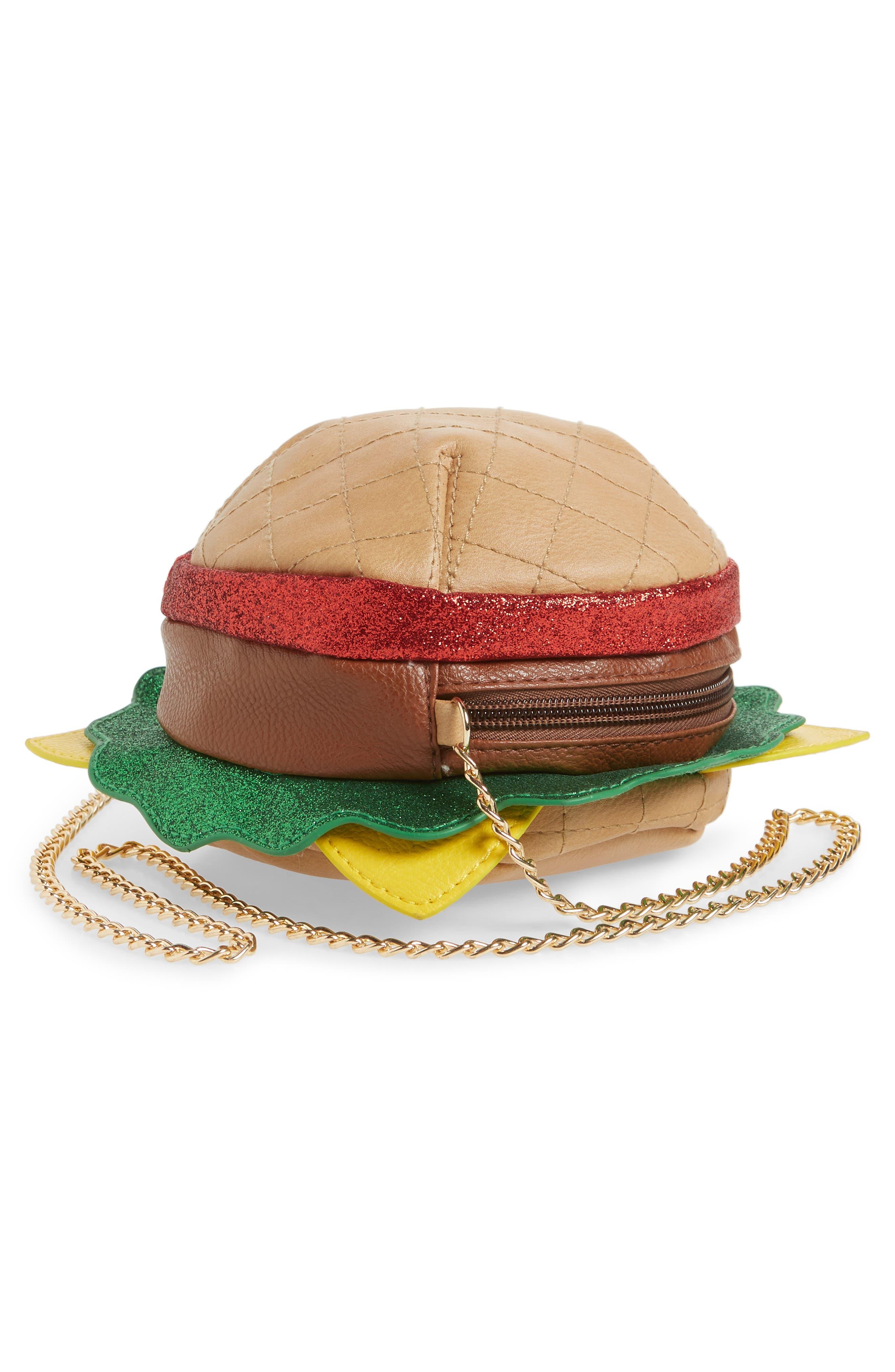 Hamburger Crossbody Bag,                             Alternate thumbnail 2, color,                             Multi Combo