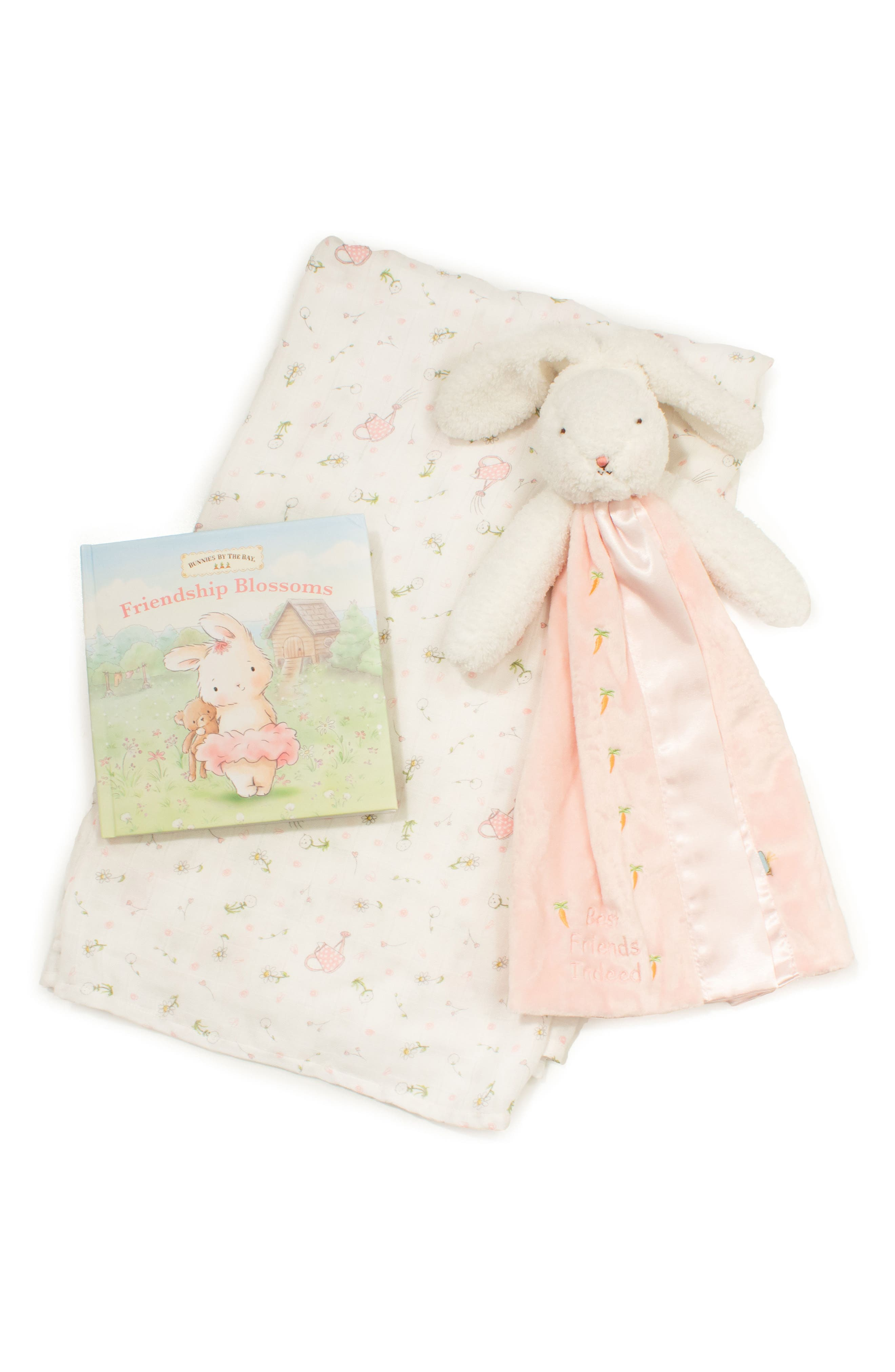 Blossom Read Me Another One 3-Piece Gift Set,                             Main thumbnail 1, color,                             Blossom Pink