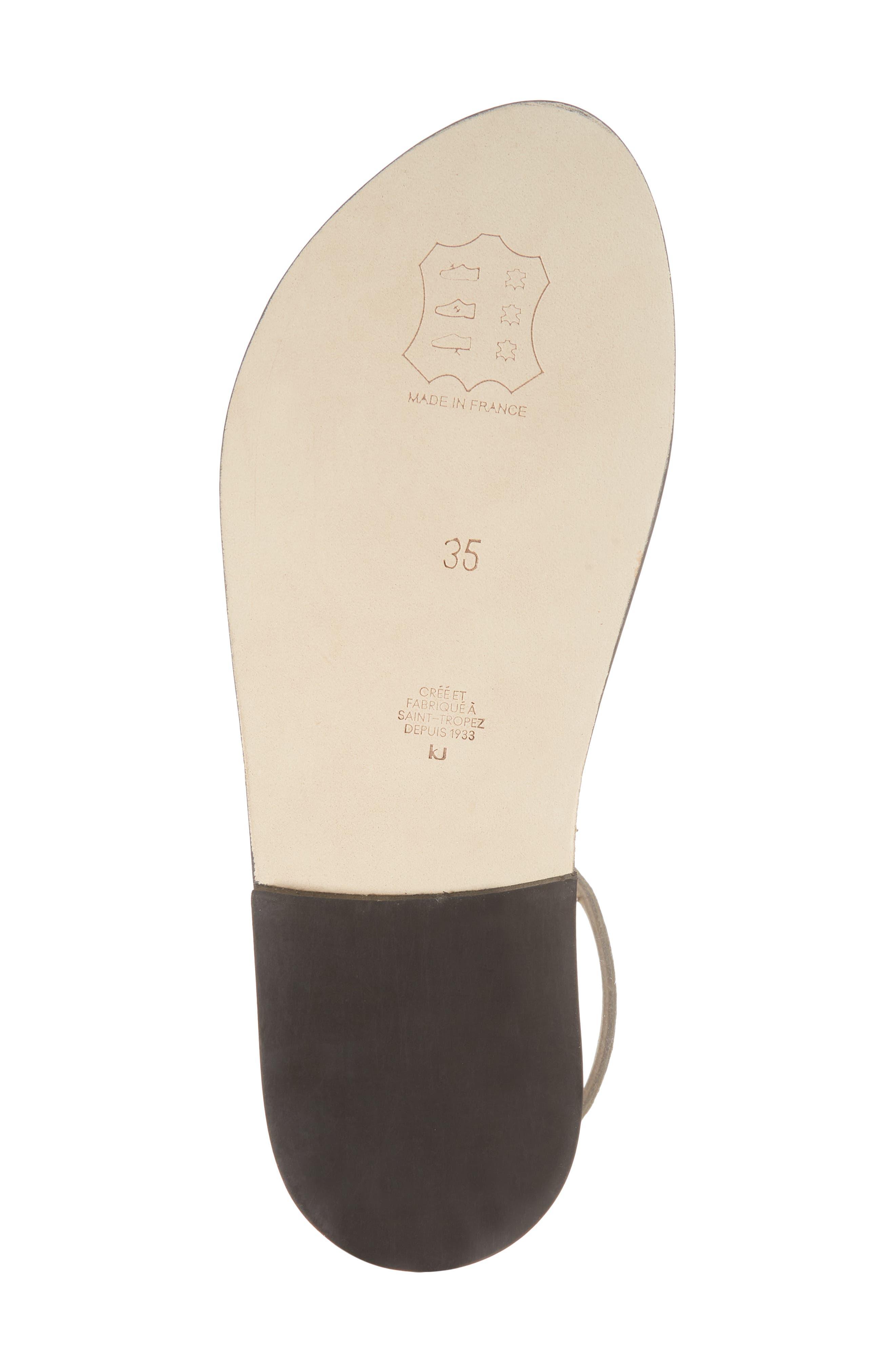 Pampa Sandal,                             Alternate thumbnail 6, color,                             Blonde / Platine Leather