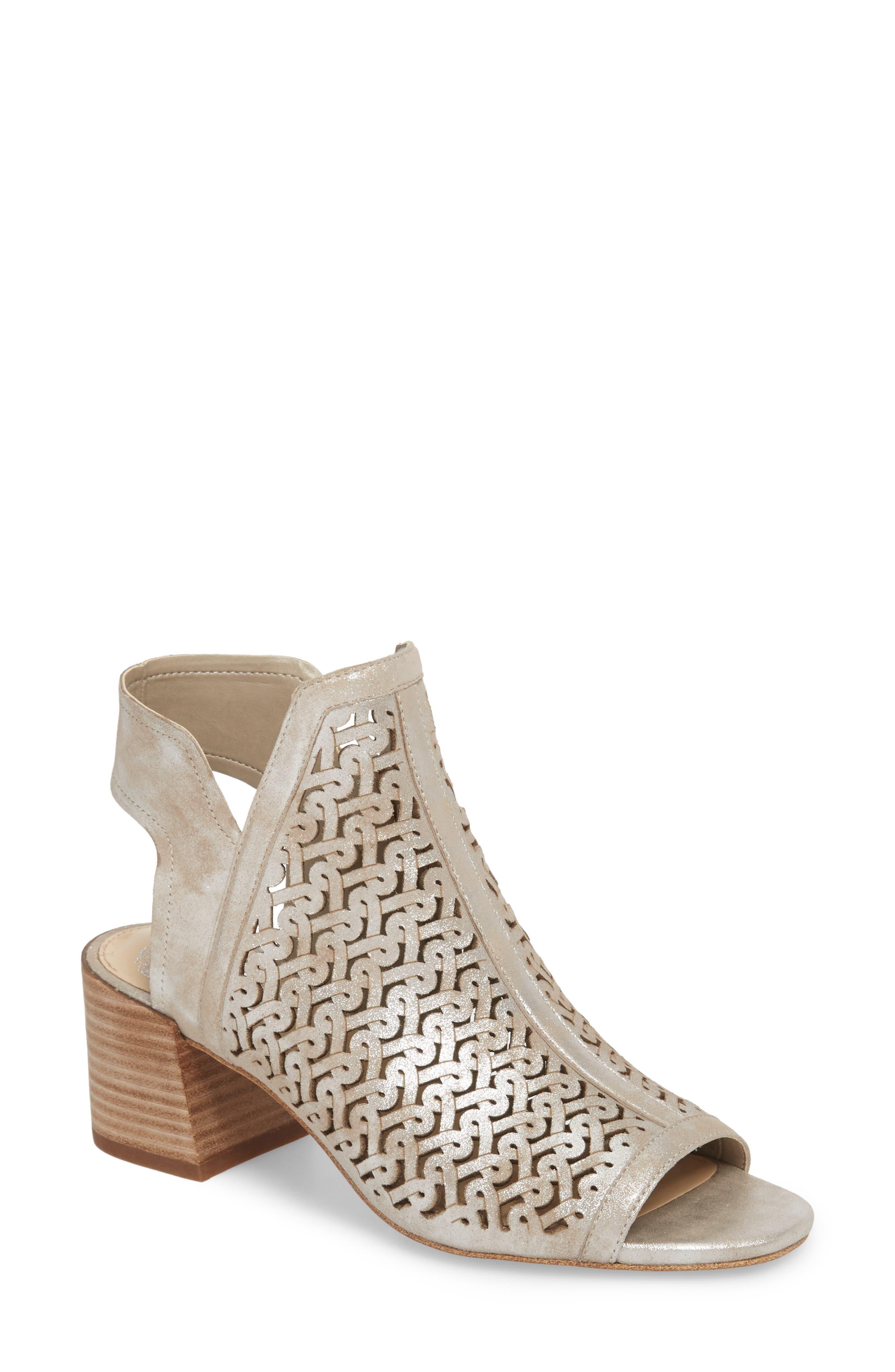 Sternat Sandal,                         Main,                         color, Sandy Silver Suede