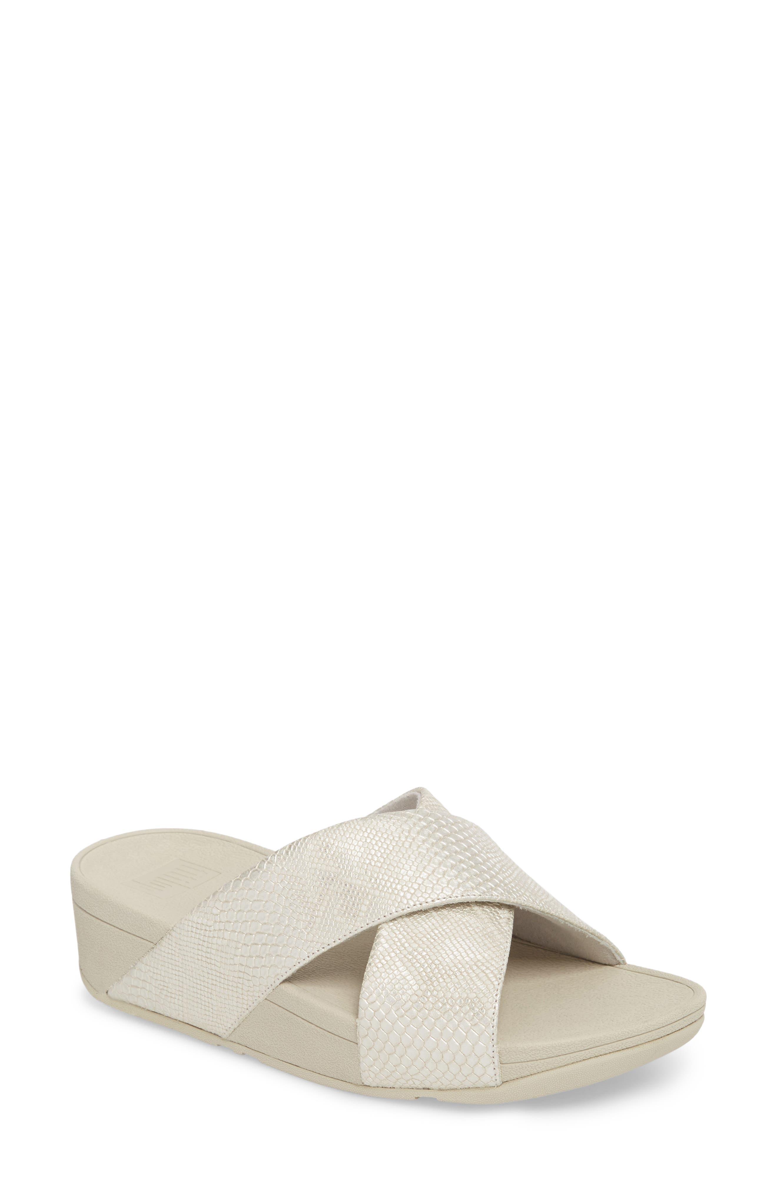 FitFlop Lulu Slide Sandal (Women)