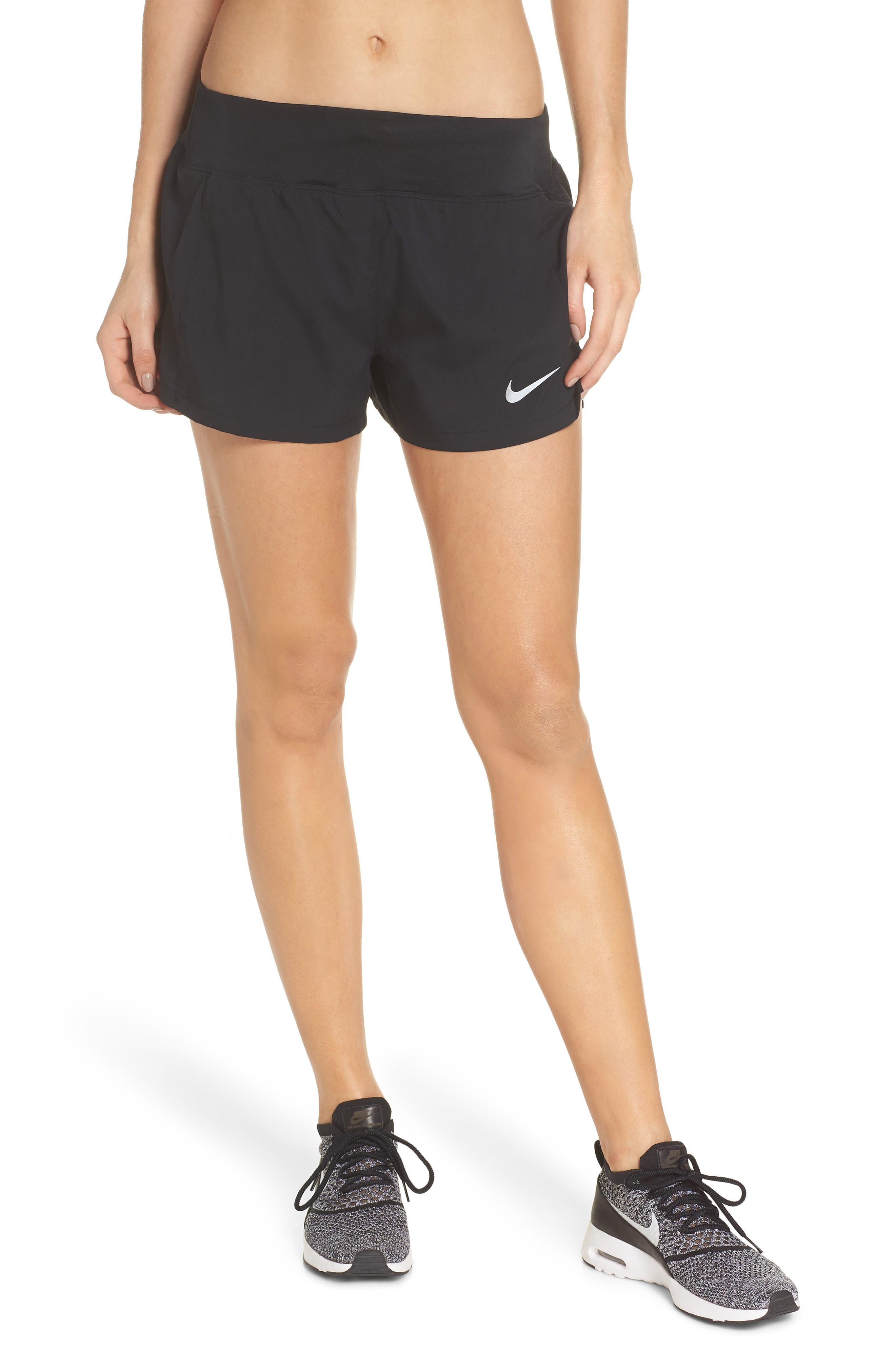 Dry Eclipse Running Shorts,                             Main thumbnail 1, color,                             Black