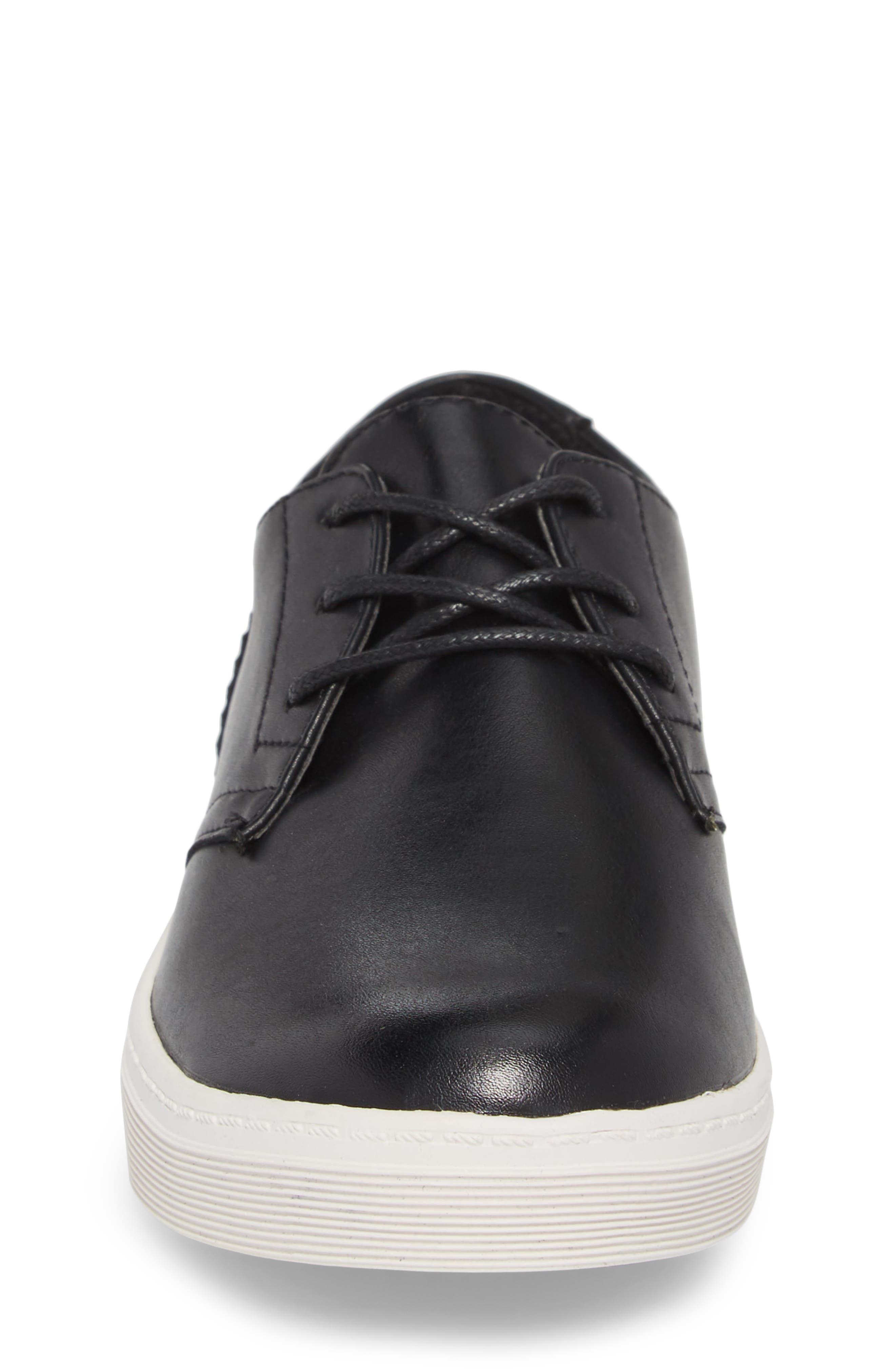 Freeland Sneaker,                             Alternate thumbnail 4, color,                             Black