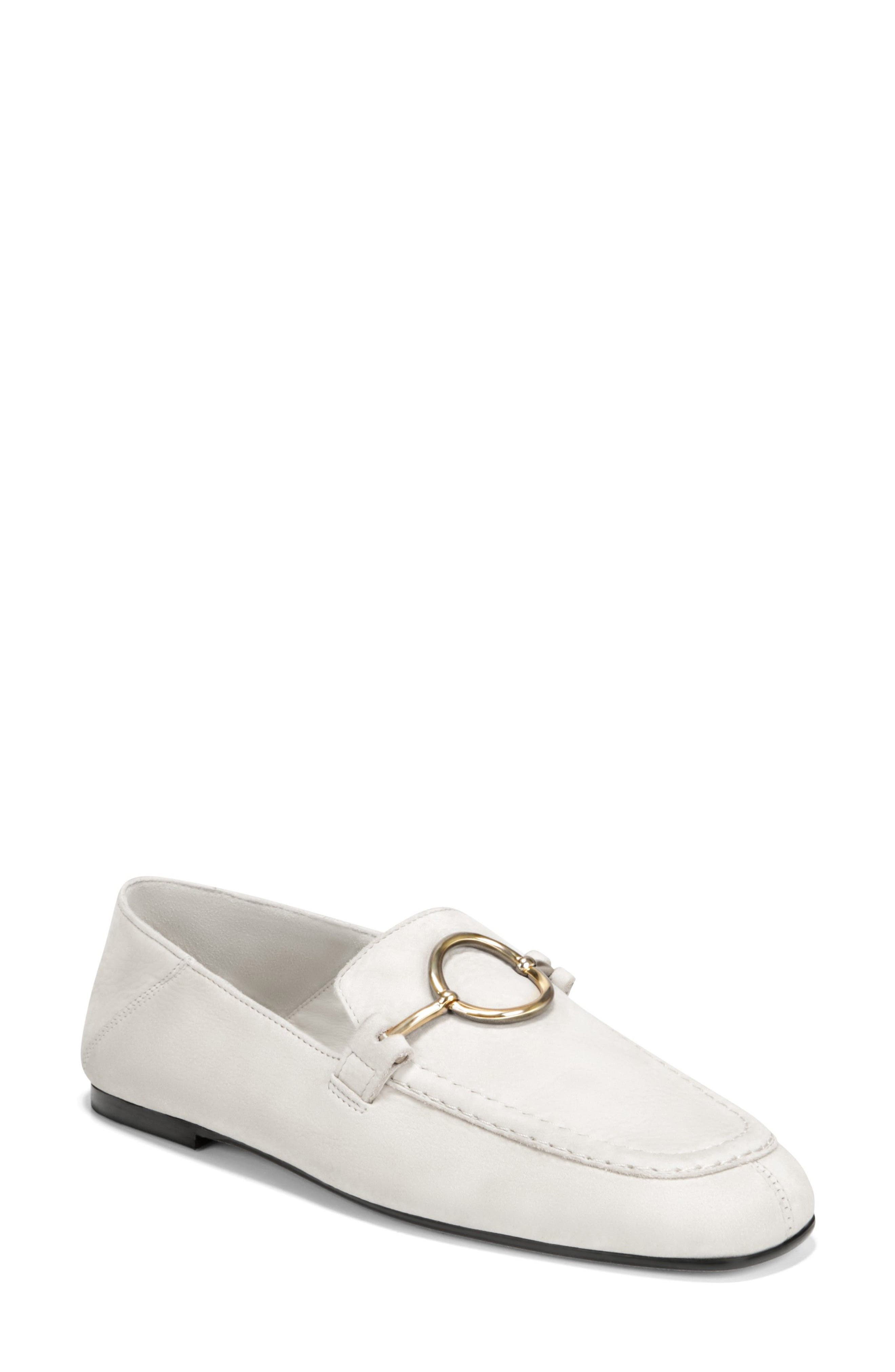 Abby Loafer,                             Main thumbnail 1, color,                             Porcelain Leather
