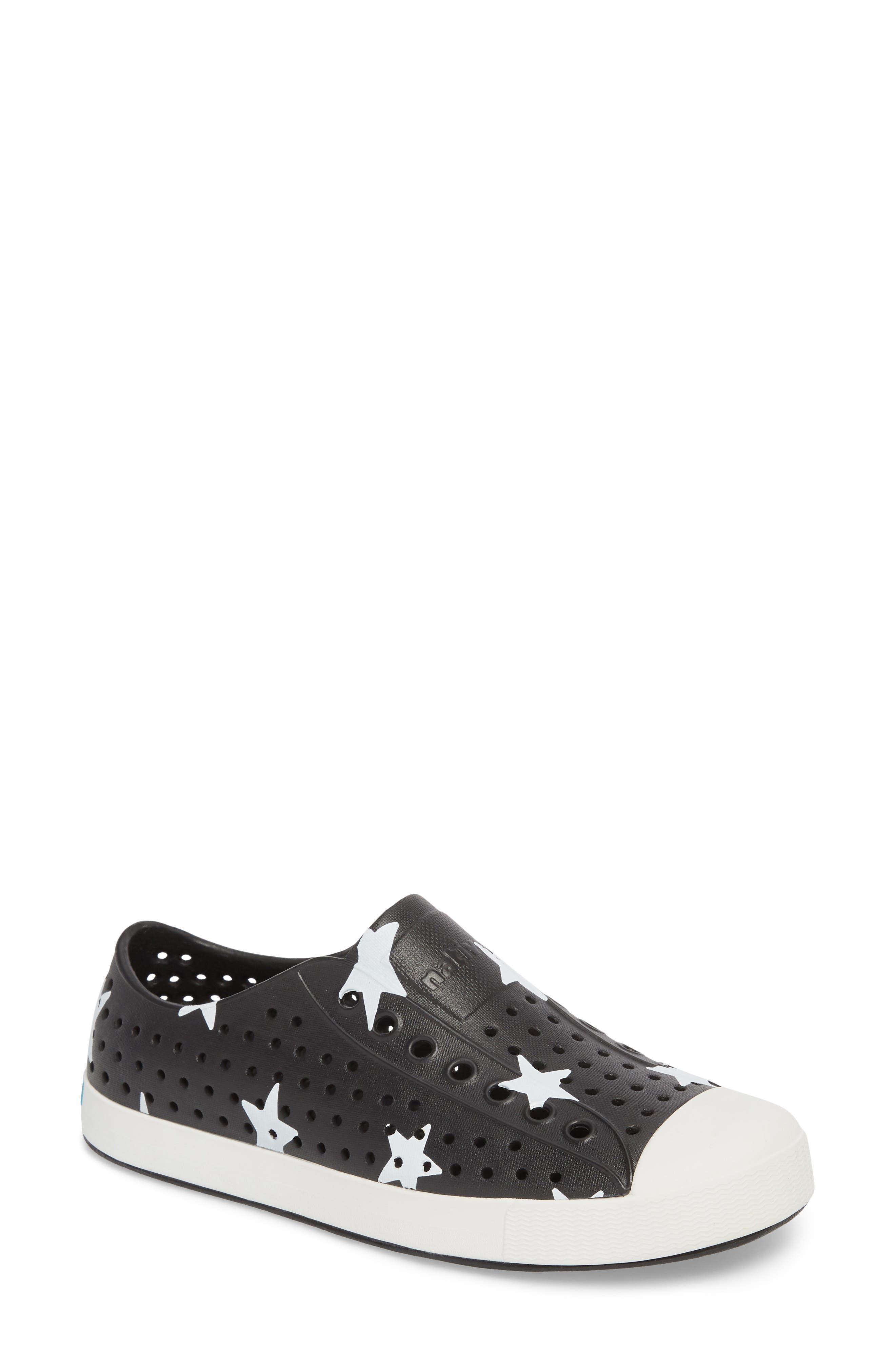 'Jefferson' Printed Slip-On Sneaker,                         Main,                         color, Jiffy Black/ White/ Big Star