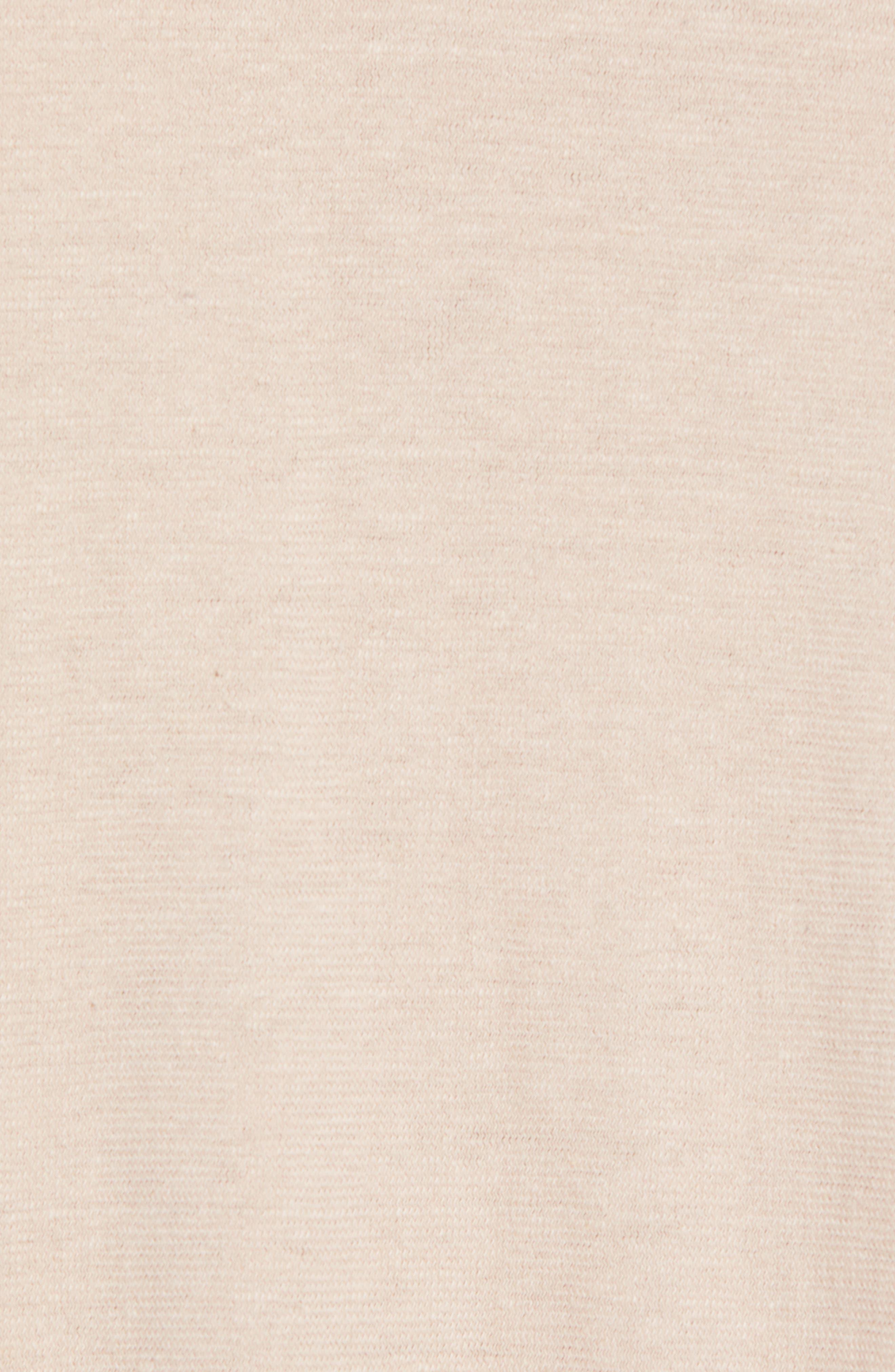 Collett Gauze T-Shirt,                             Alternate thumbnail 5, color,                             Dusty Rose