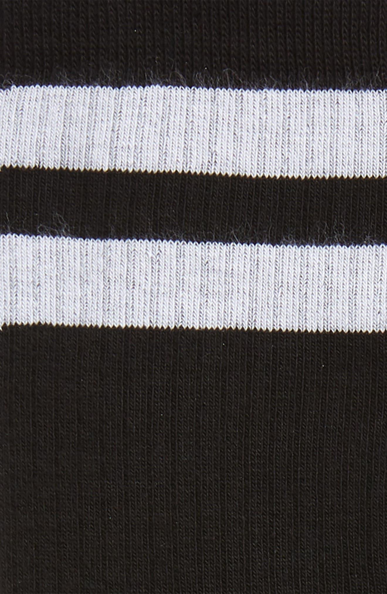 VLTN Socks,                             Alternate thumbnail 2, color,                             Black