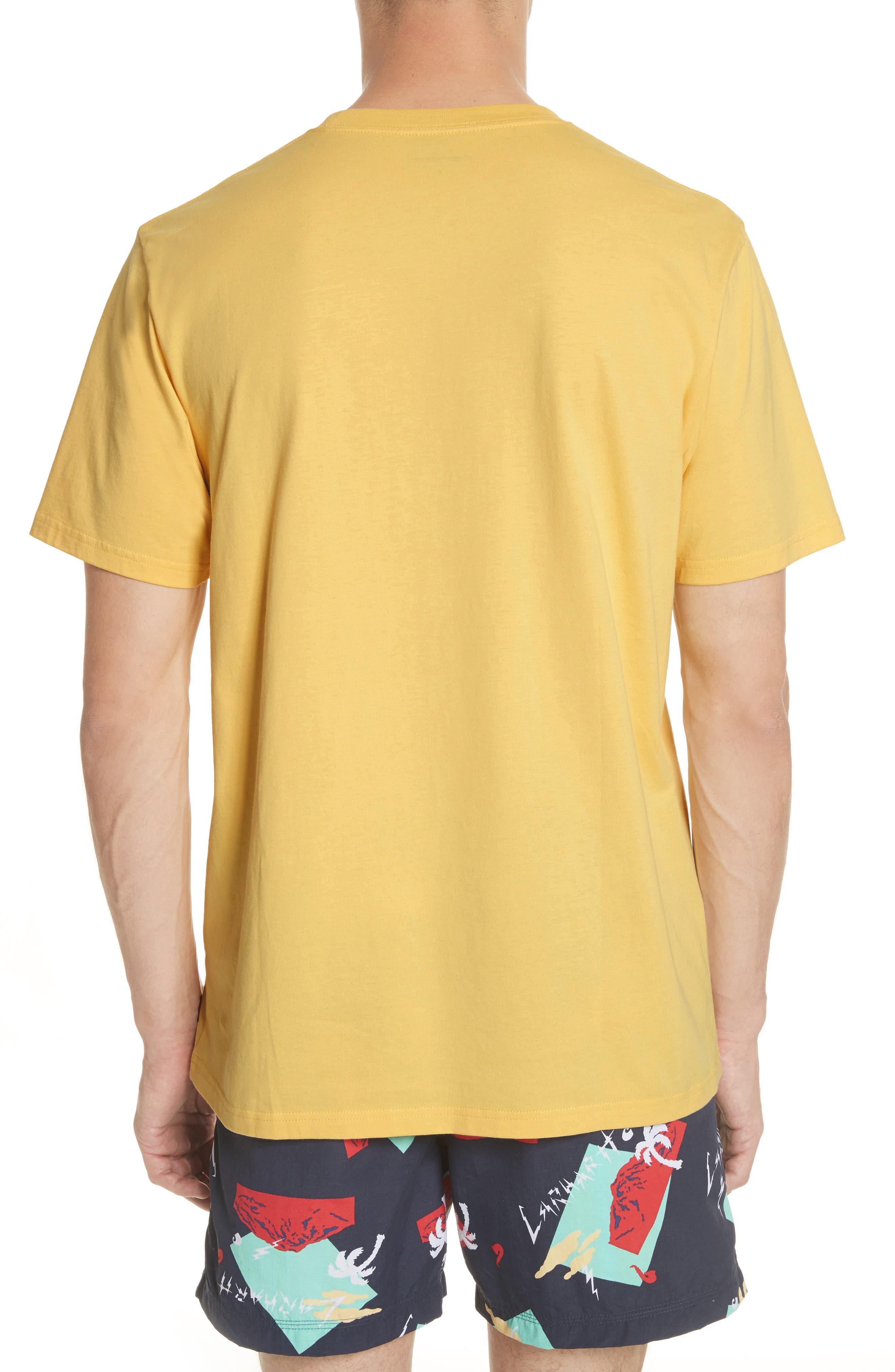 Anderson T-Shirt,                             Alternate thumbnail 2, color,                             Citrine
