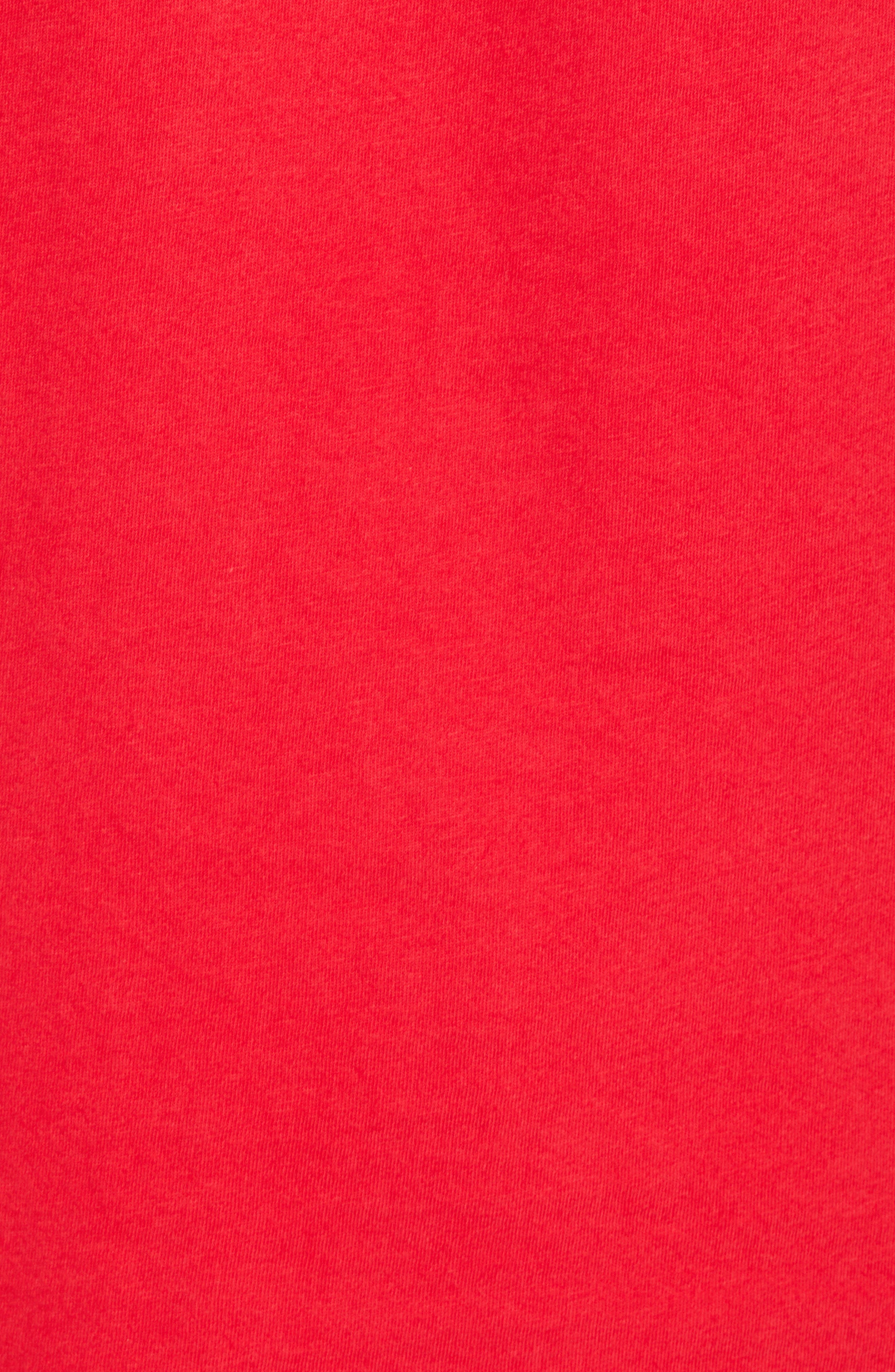 Outfield T-Shirt,                             Alternate thumbnail 5, color,                             True Red