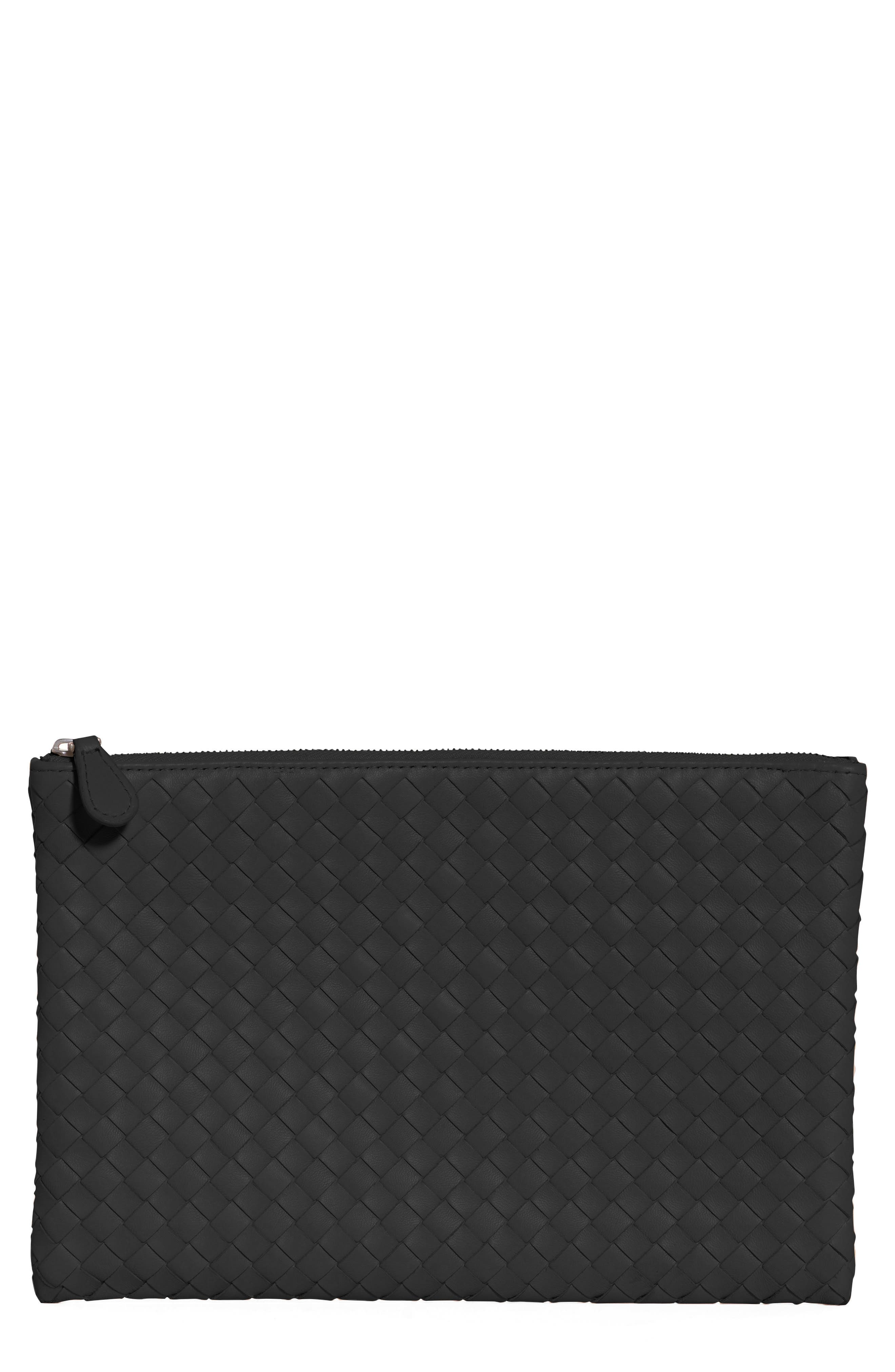 Bottega Veneta Intrecciato Large Leather Pouch