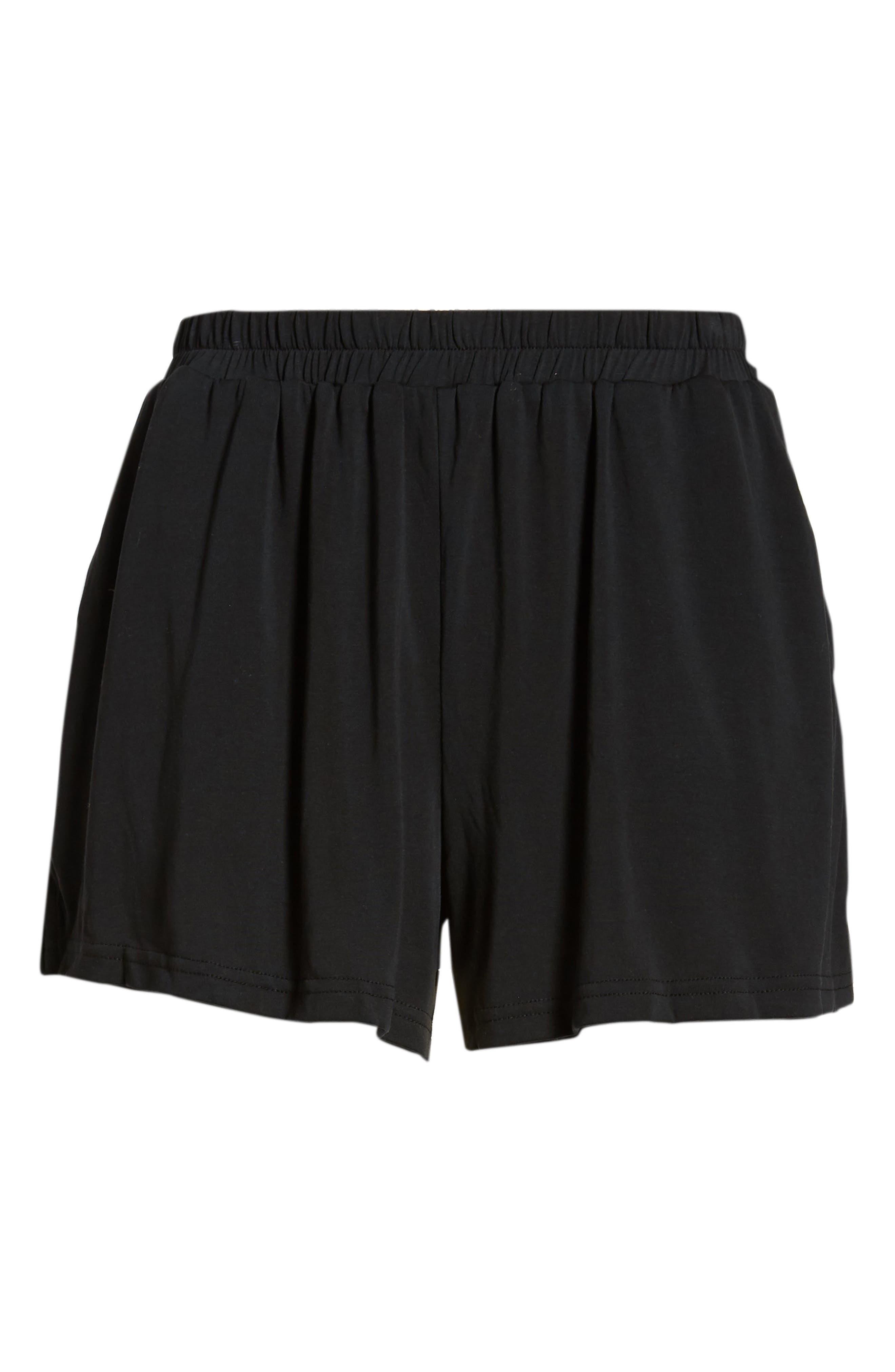 Laguna Shorts,                             Alternate thumbnail 6, color,                             Black