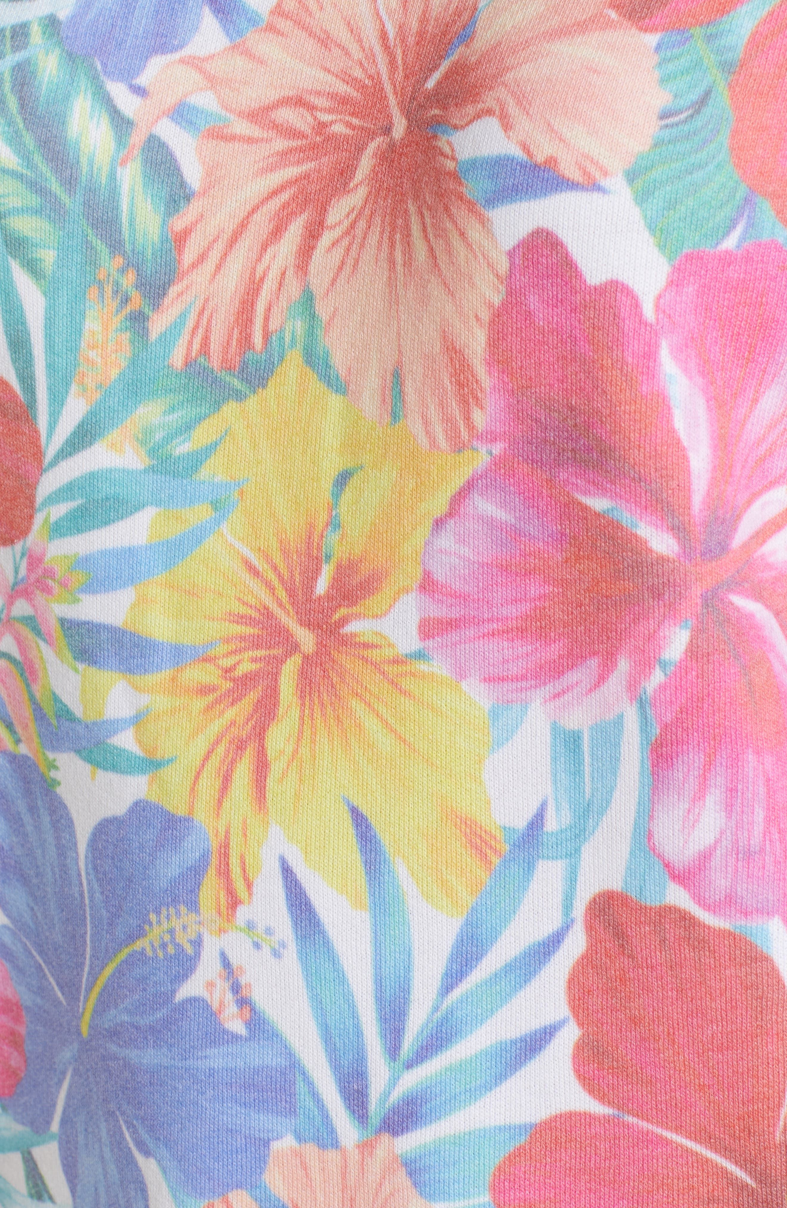 Tropicalia Sommers Sweatshirt,                             Alternate thumbnail 5, color,                             Multi Colored