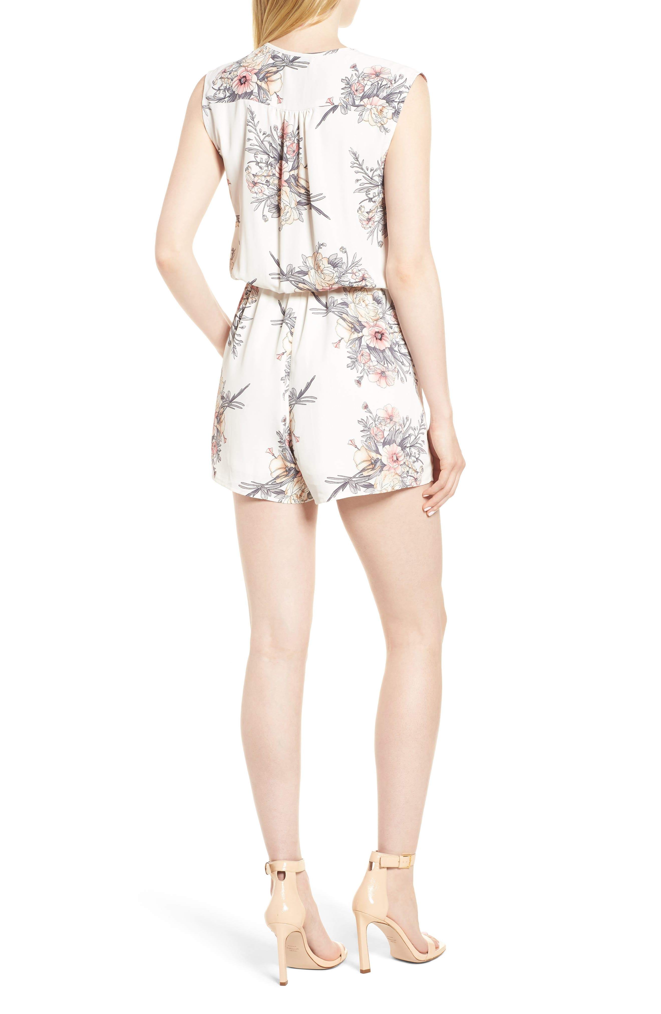 Bishop + Young Summer of Love Romper,                             Alternate thumbnail 2, color,                             Summer Of Love Print