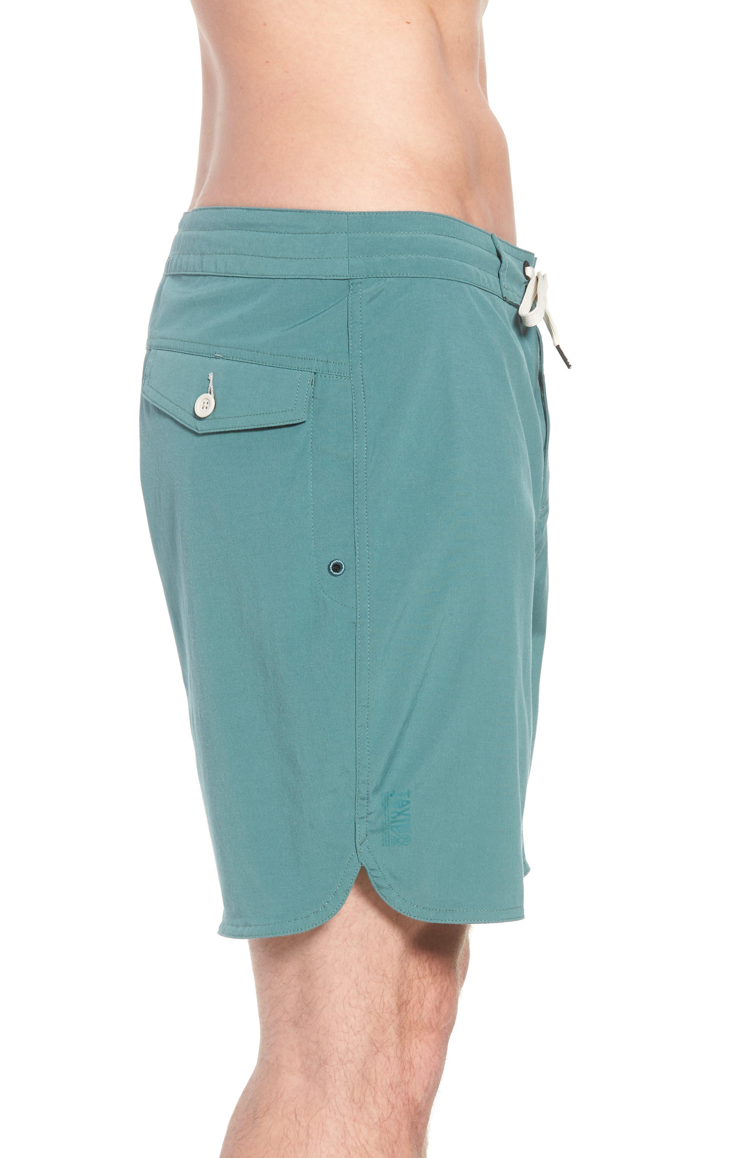 Avalon Board Shorts,                             Alternate thumbnail 4, color,                             Palm Green