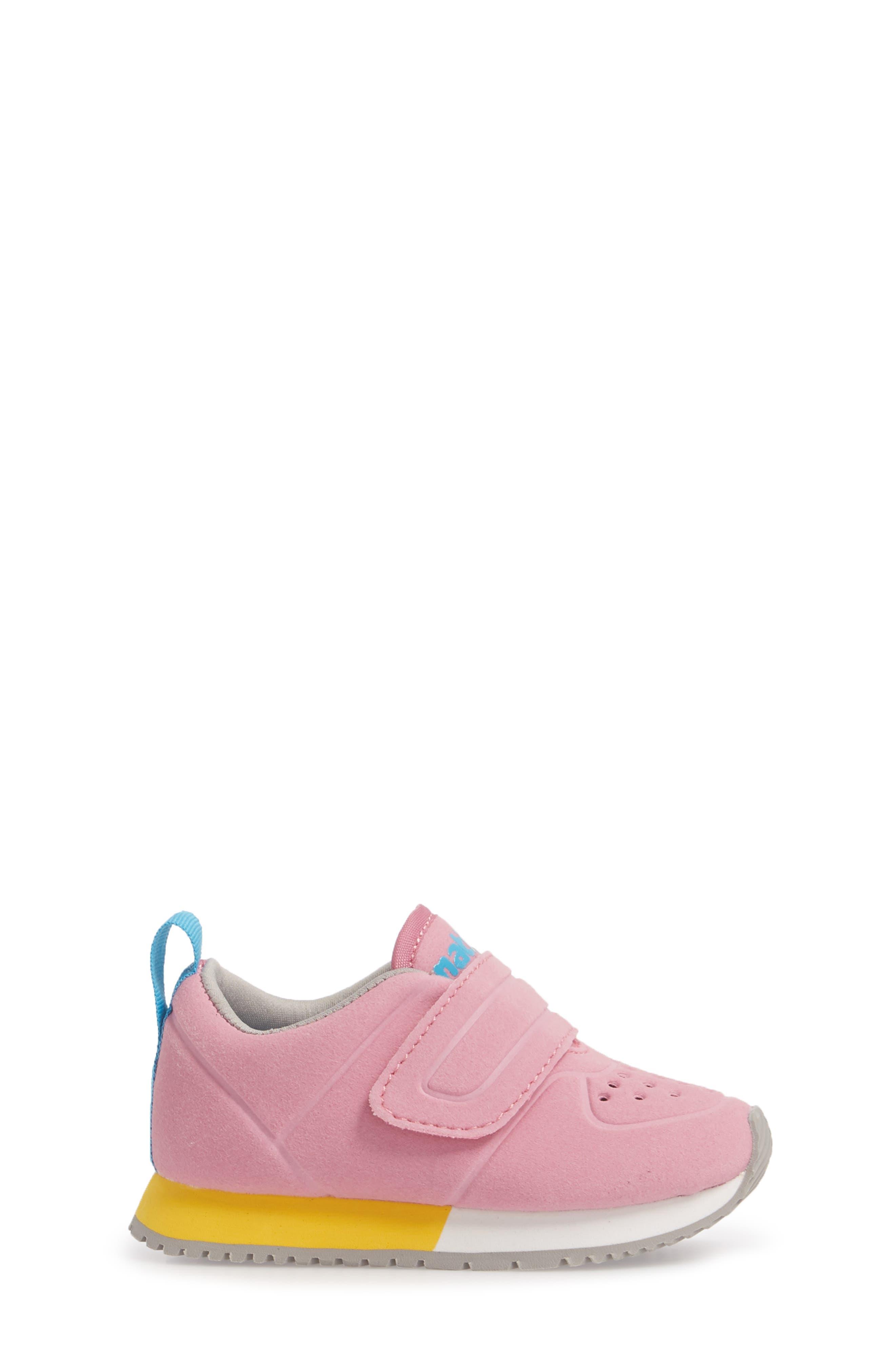 Native Cornell Perforated Sneaker,                             Alternate thumbnail 3, color,                             Malibu Pink/ White/ Blue