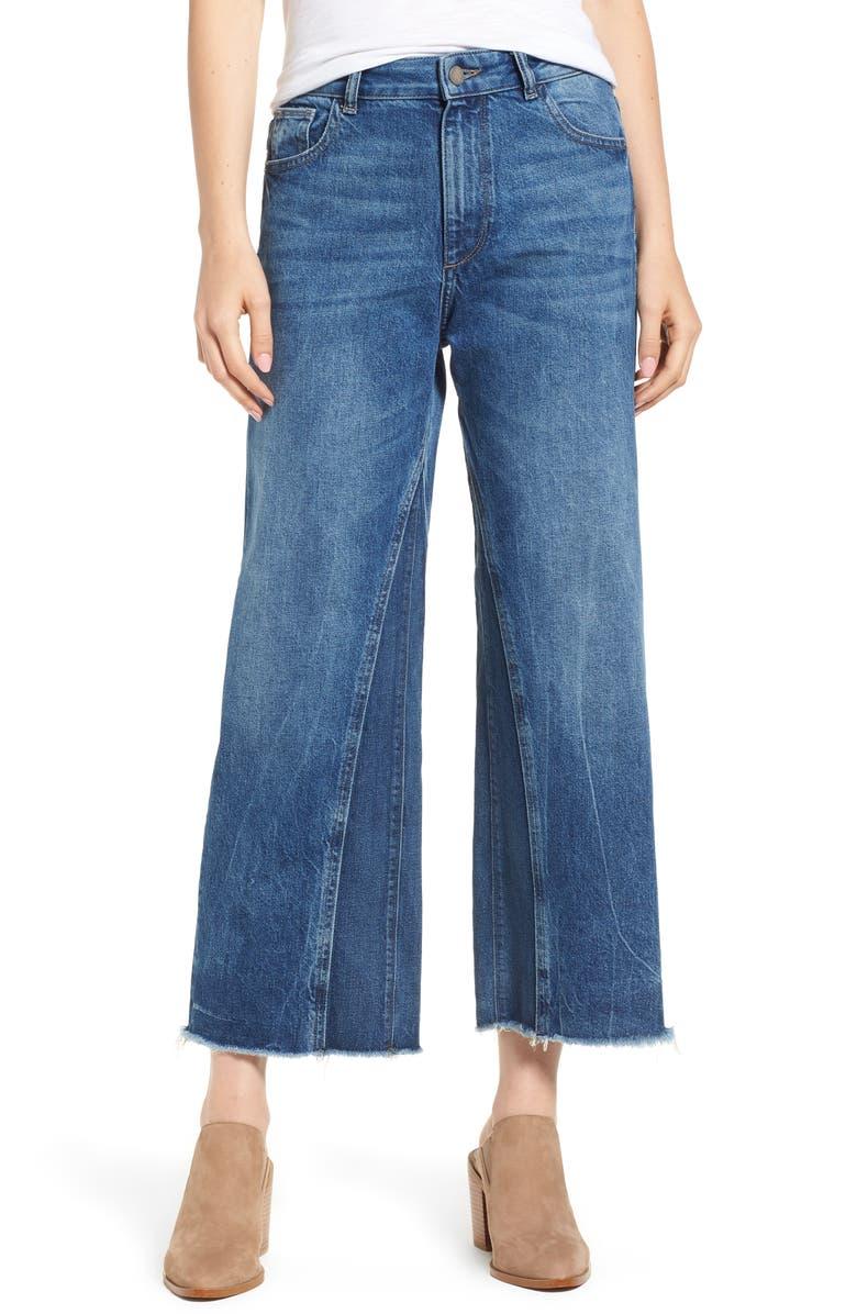 Hepburn High Waist Wide Leg Jeans