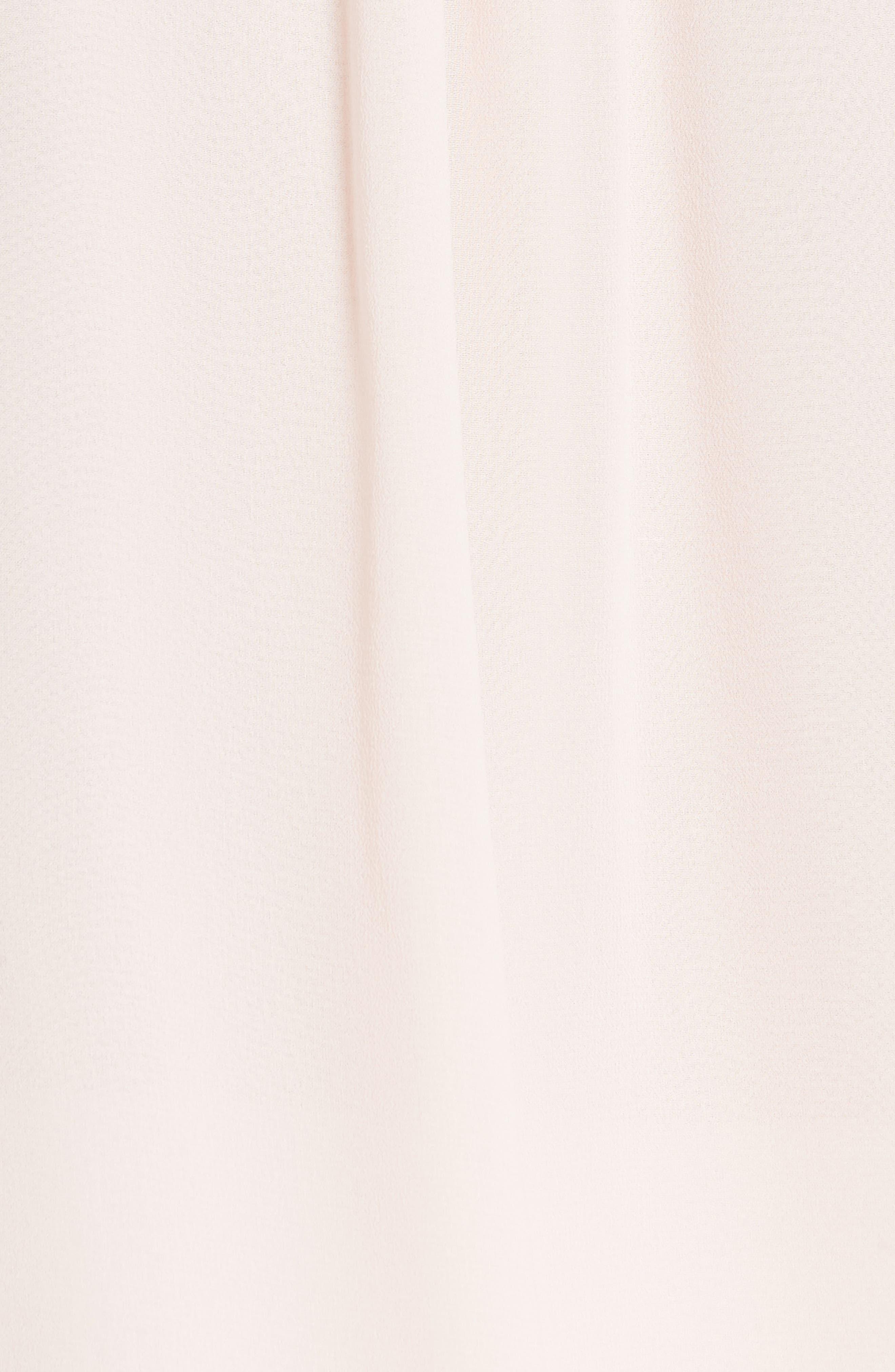 Haley Silk Blouse,                             Alternate thumbnail 5, color,                             Ballet Pink
