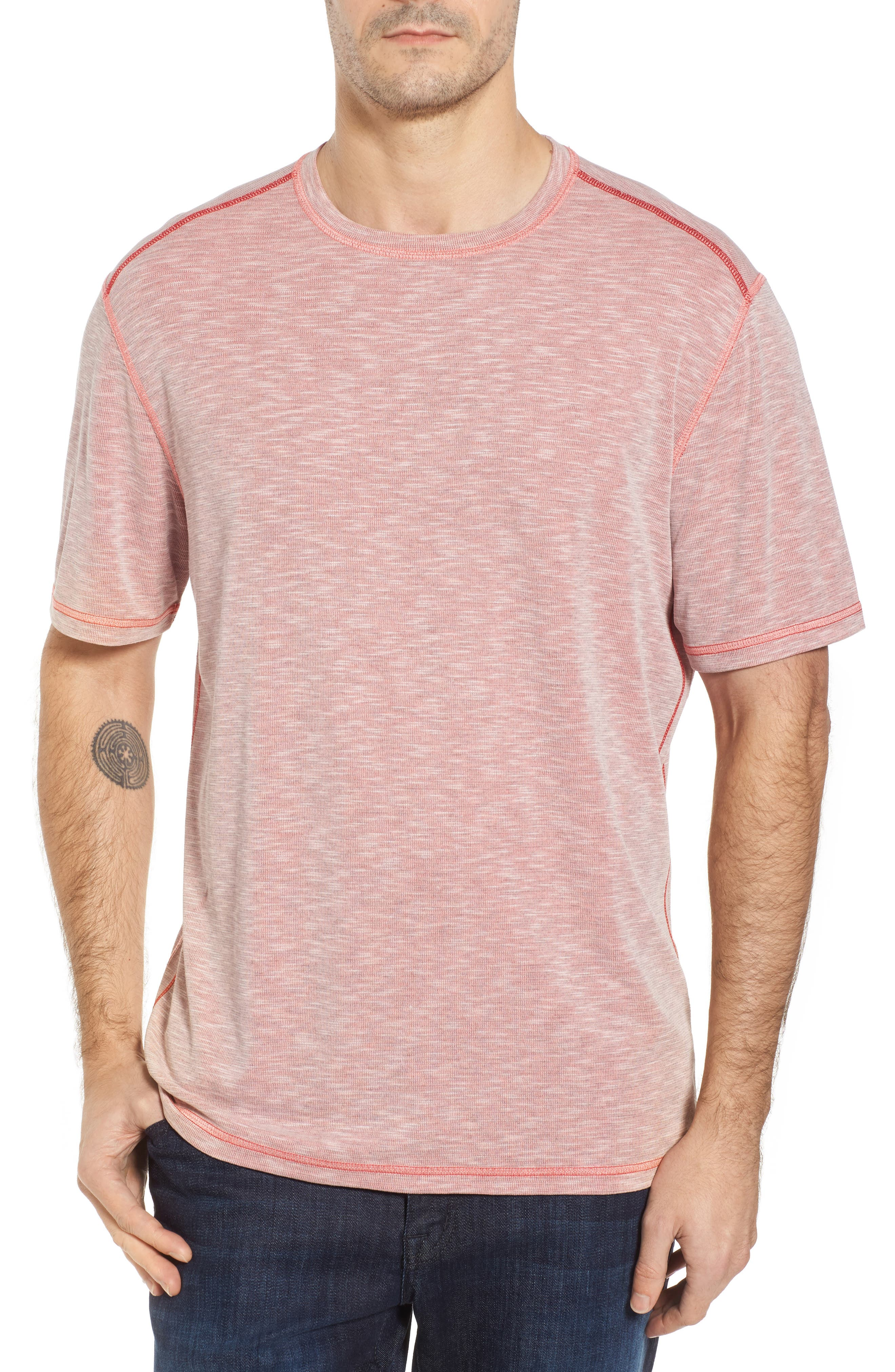 Flip Tide T-Shirt,                         Main,                         color, Red Cherry