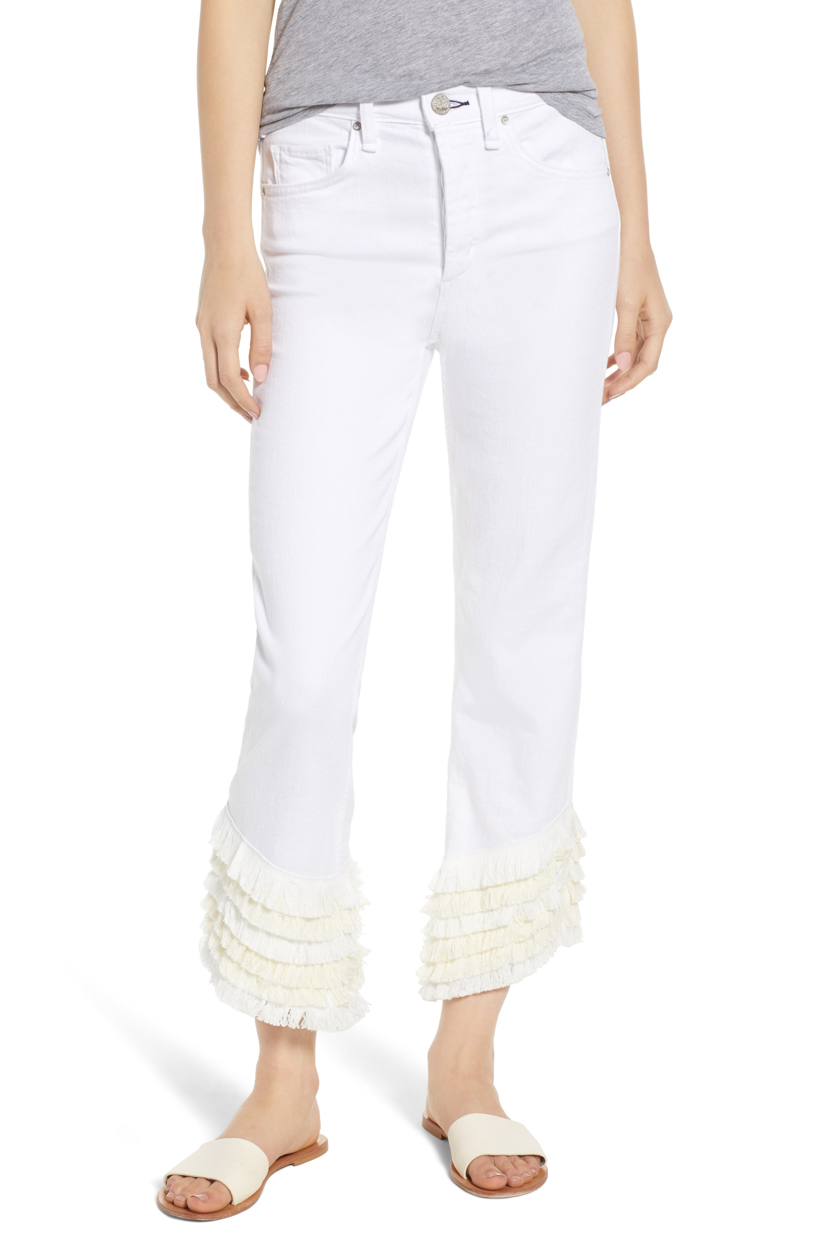 Cha Cha Flare Jeans,                             Main thumbnail 1, color,                             Swing Time