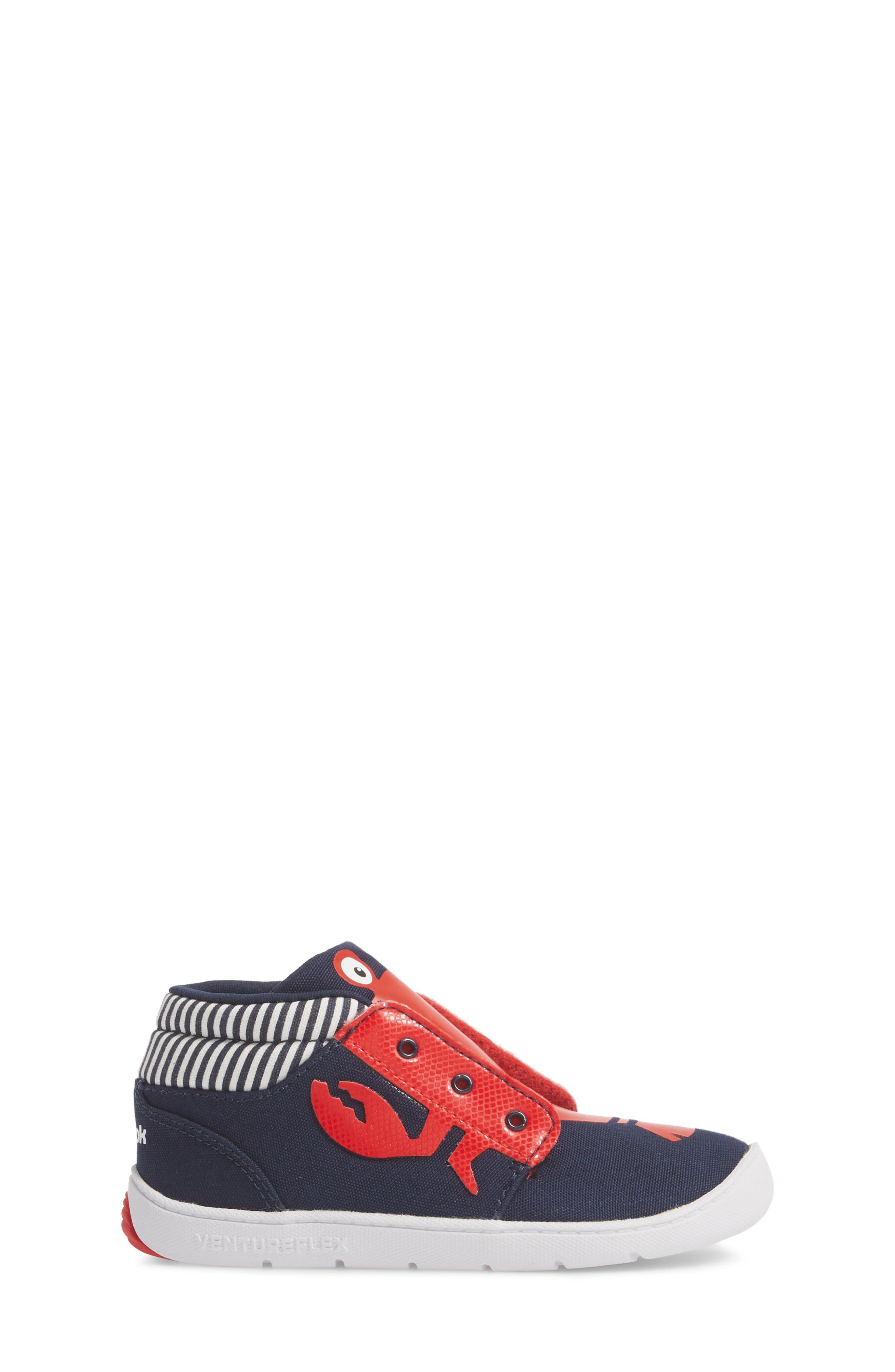 Ventureflex High Top Critter Sneaker,                             Alternate thumbnail 3, color,                             Blue