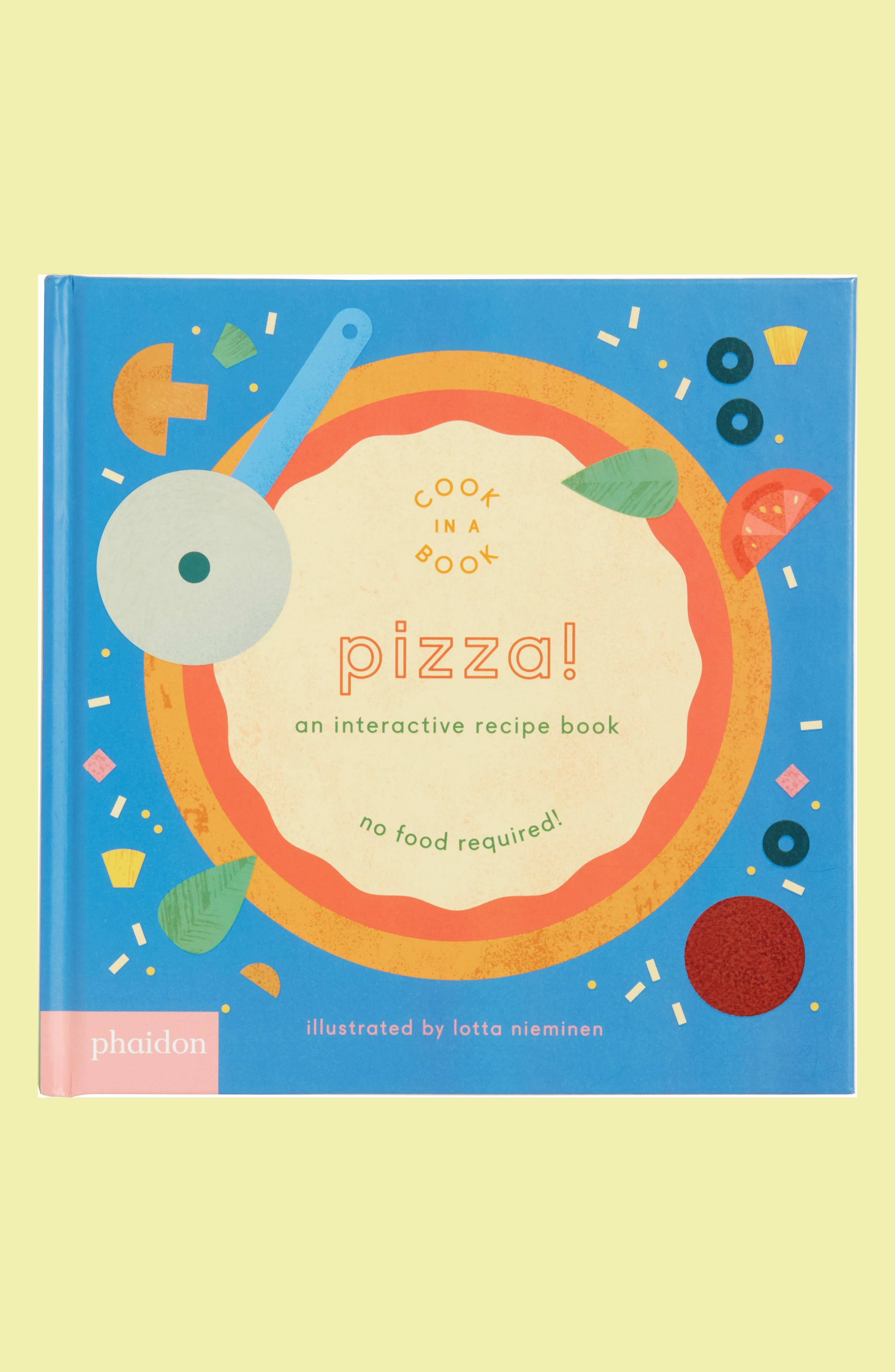 Cook In A Book - Pizza! Interactive Recipe Book