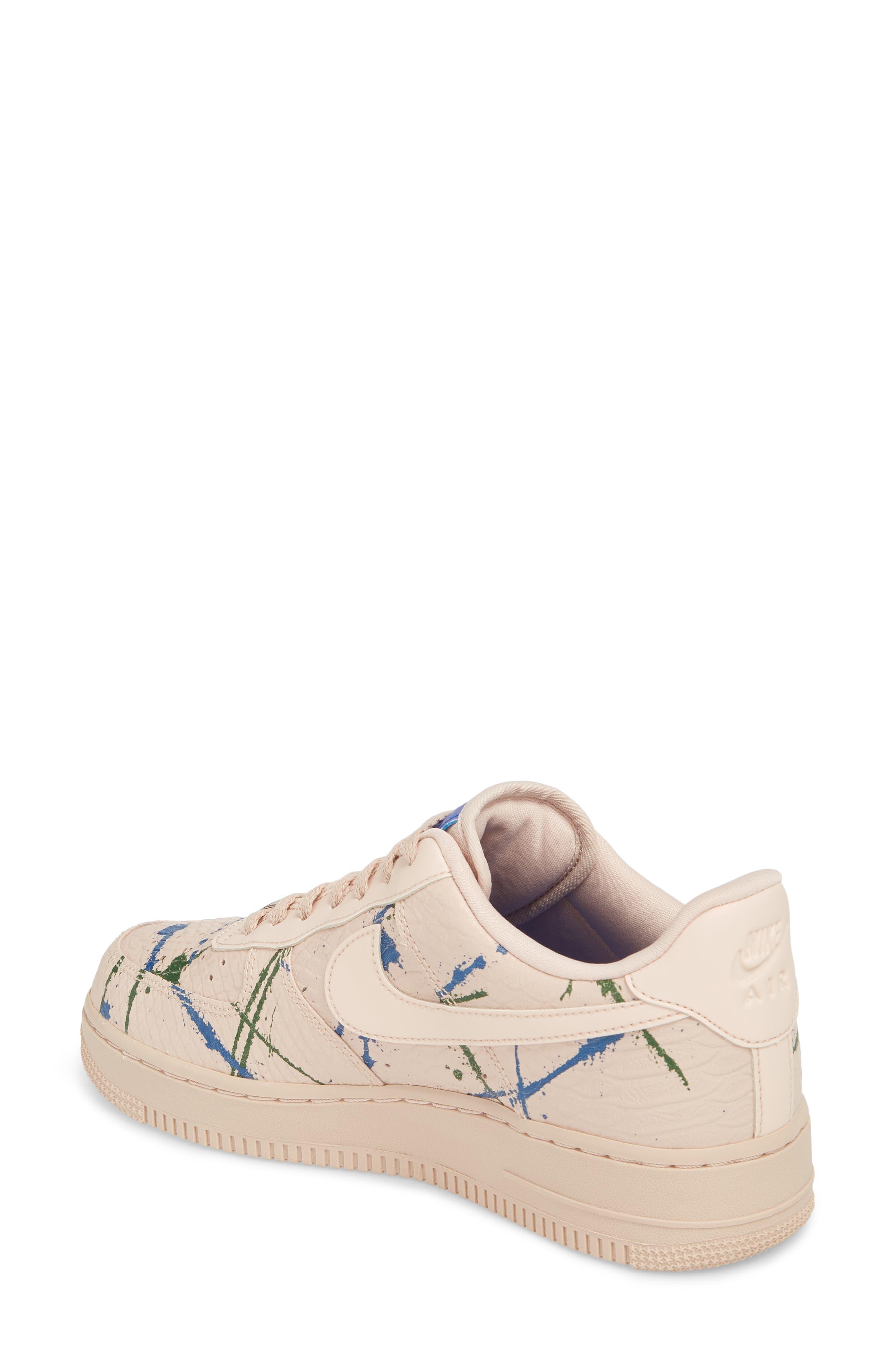 Air Force 1 '07 LX Sneaker,                             Alternate thumbnail 2, color,                             Particle Beige