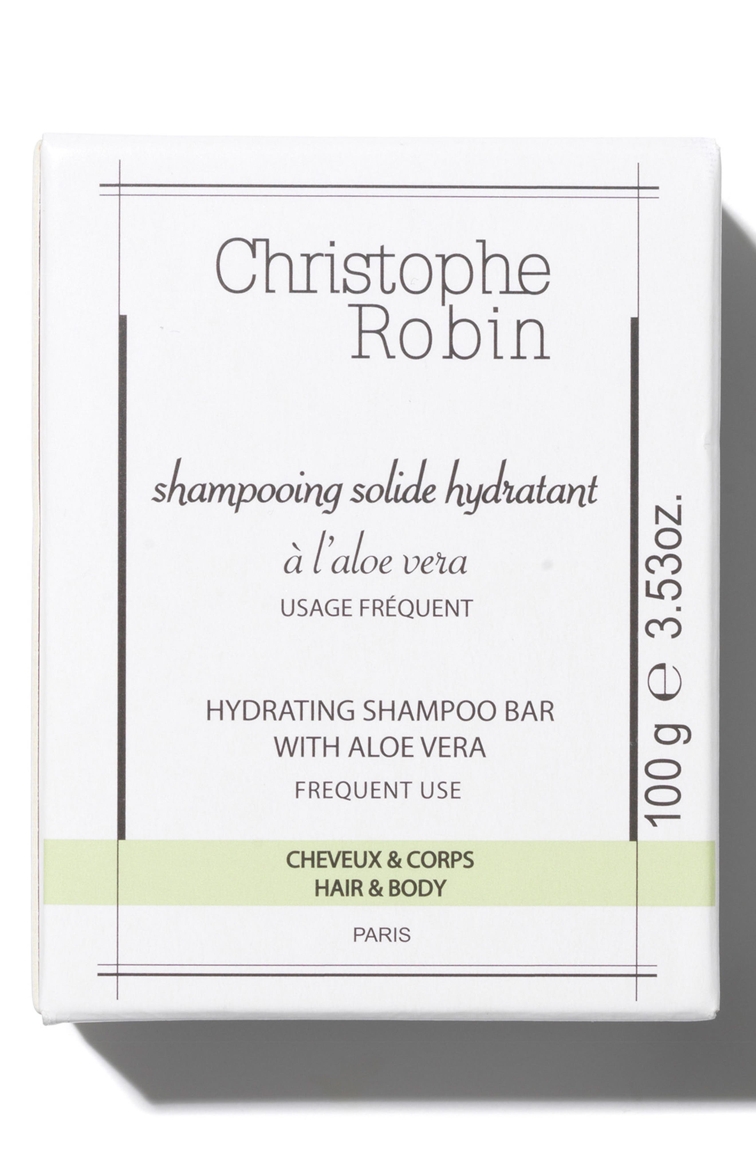 SPACE.NK.apothecary Christophe Robin Hydrating Shampoo Bar,                             Main thumbnail 1, color,                             No Color