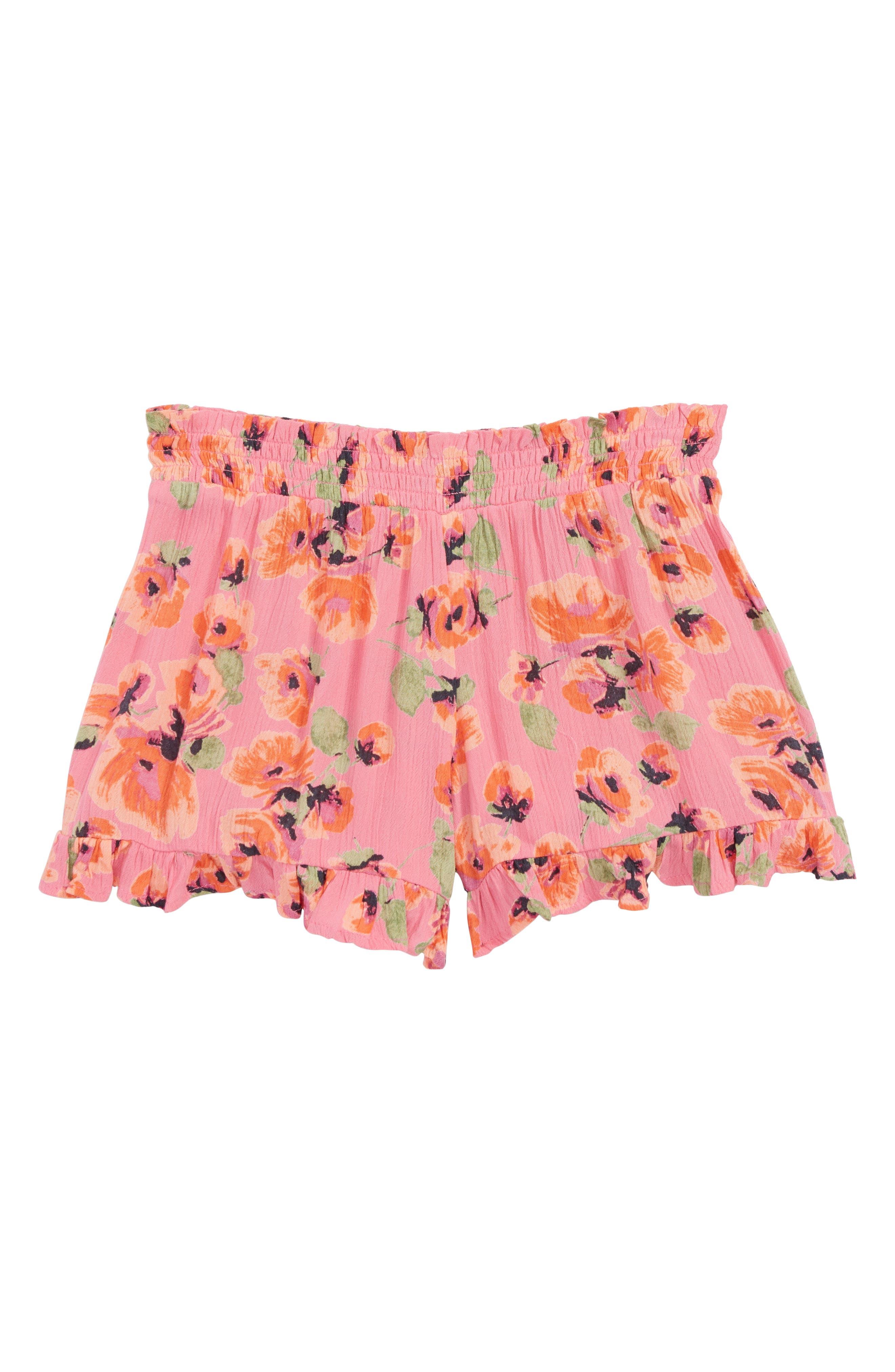 Wild Wave Shorts,                         Main,                         color, Tahiti Pink