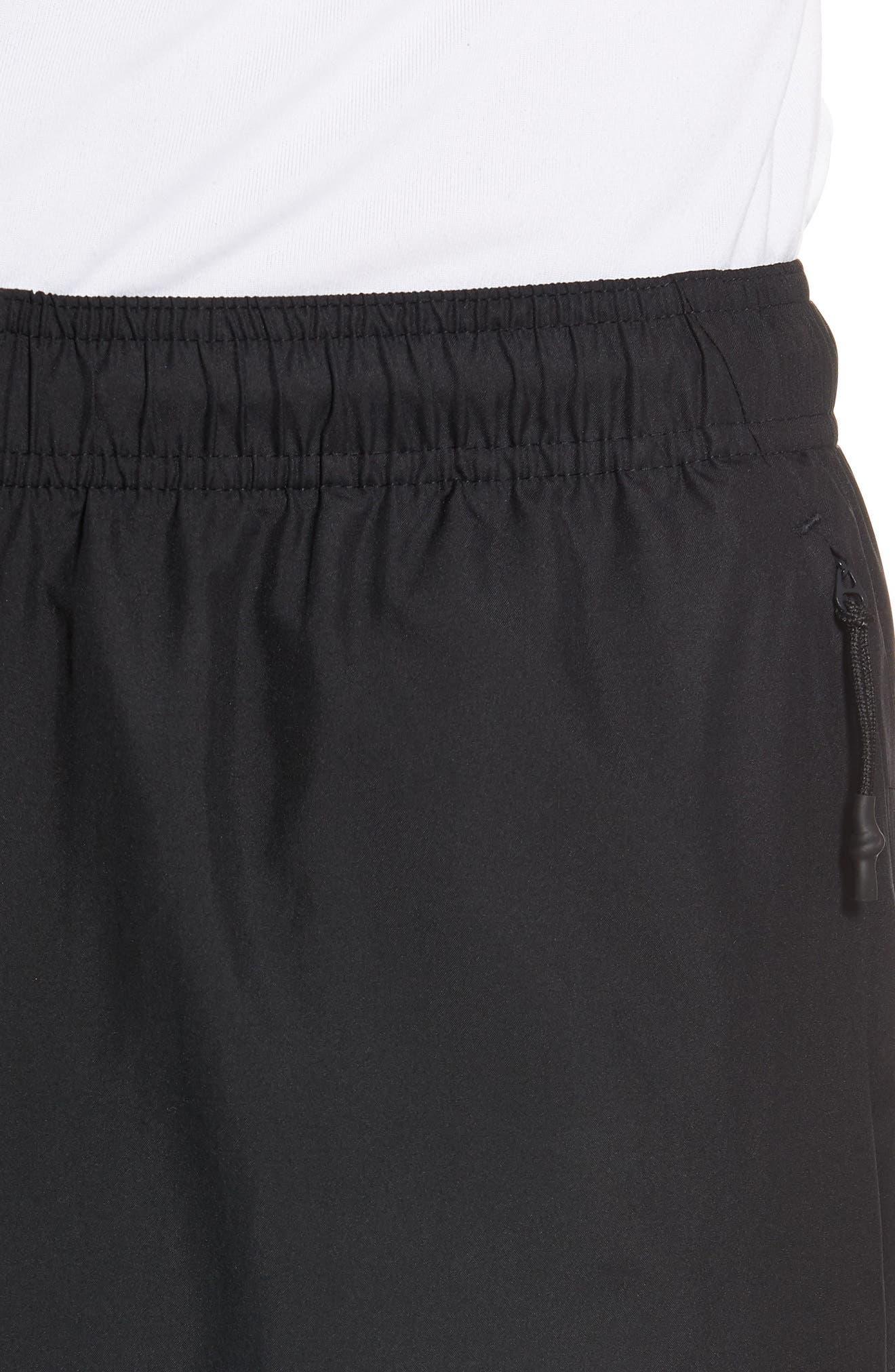 Slim Fit Sweatpants,                             Alternate thumbnail 4, color,                             Black