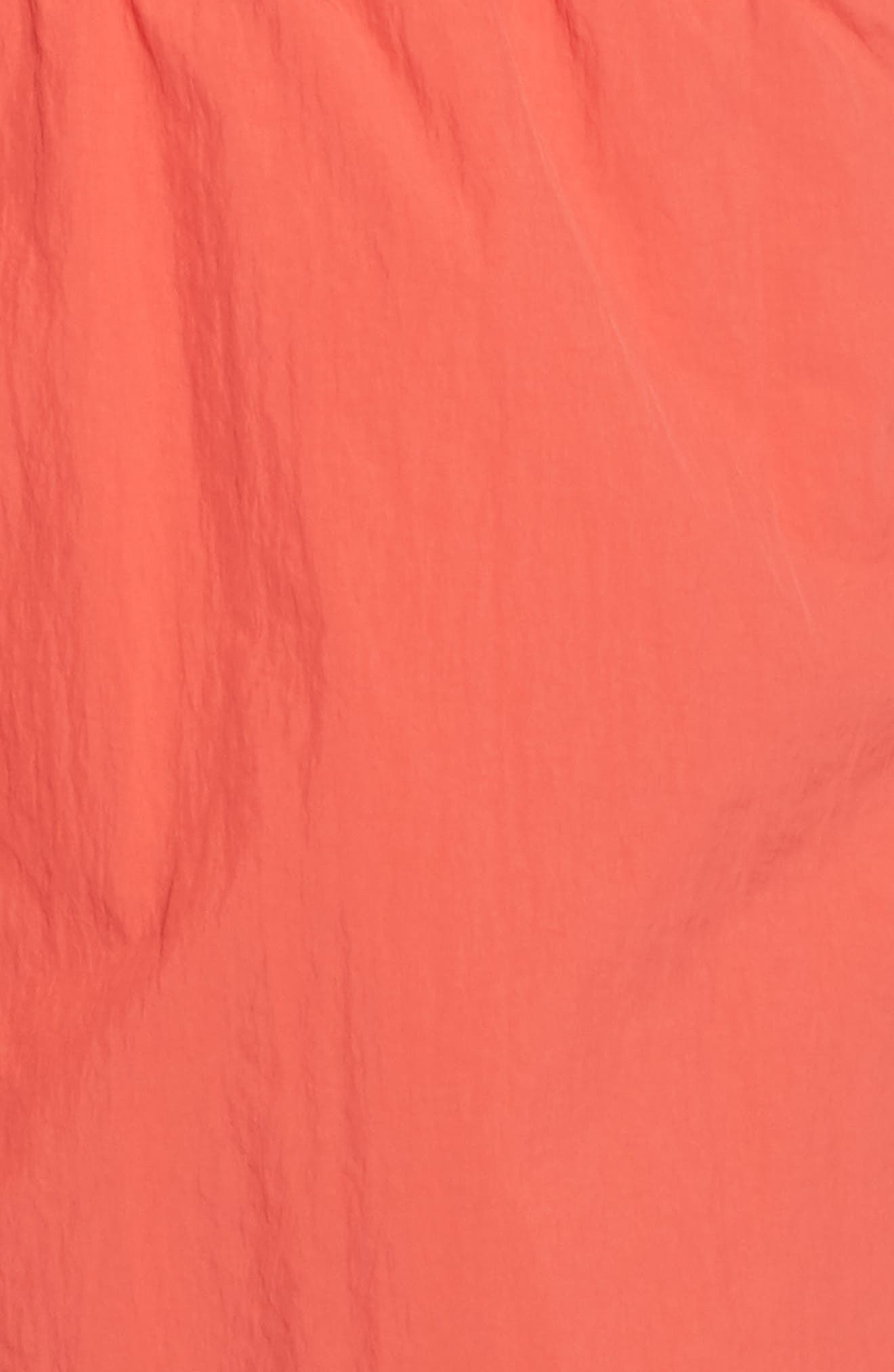 Fuji Shorts,                             Alternate thumbnail 6, color,                             Coral