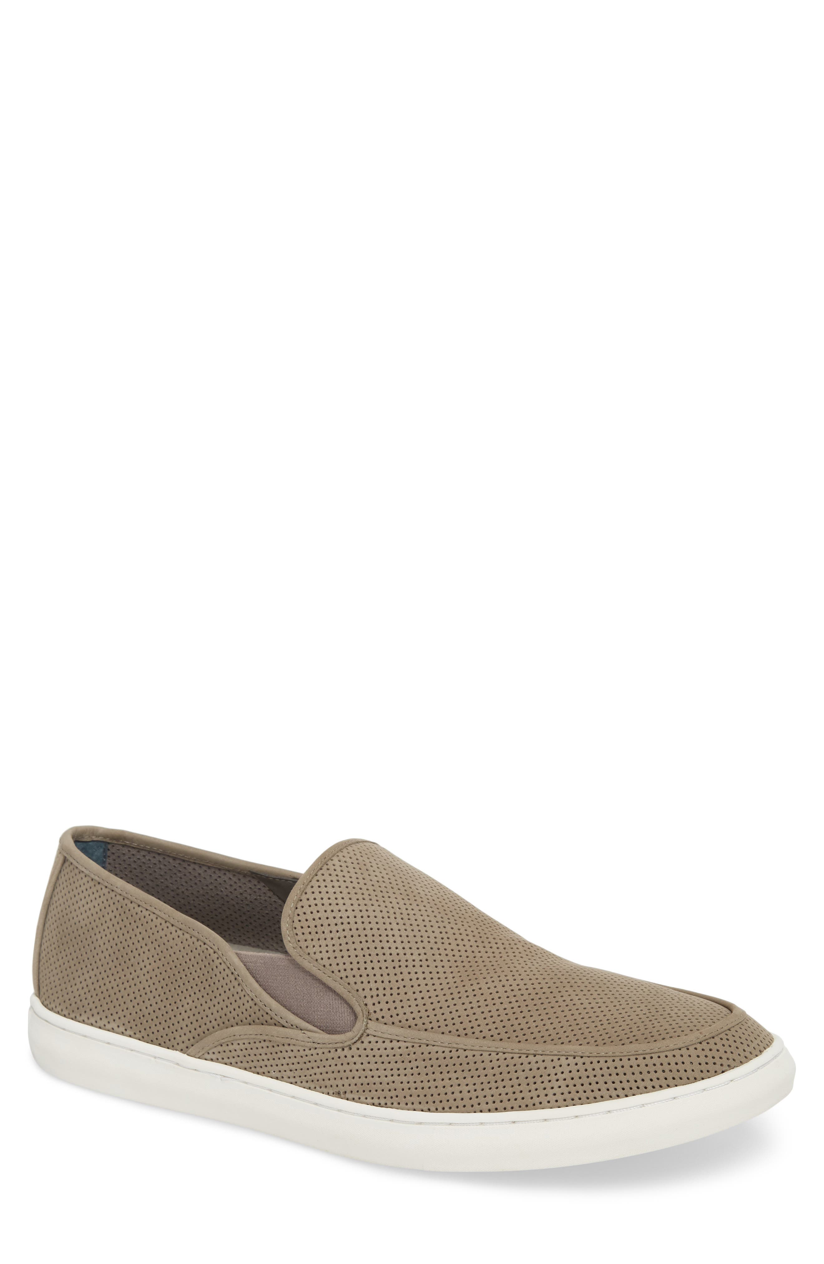 1901 Venice Perforated Suede Slip-On