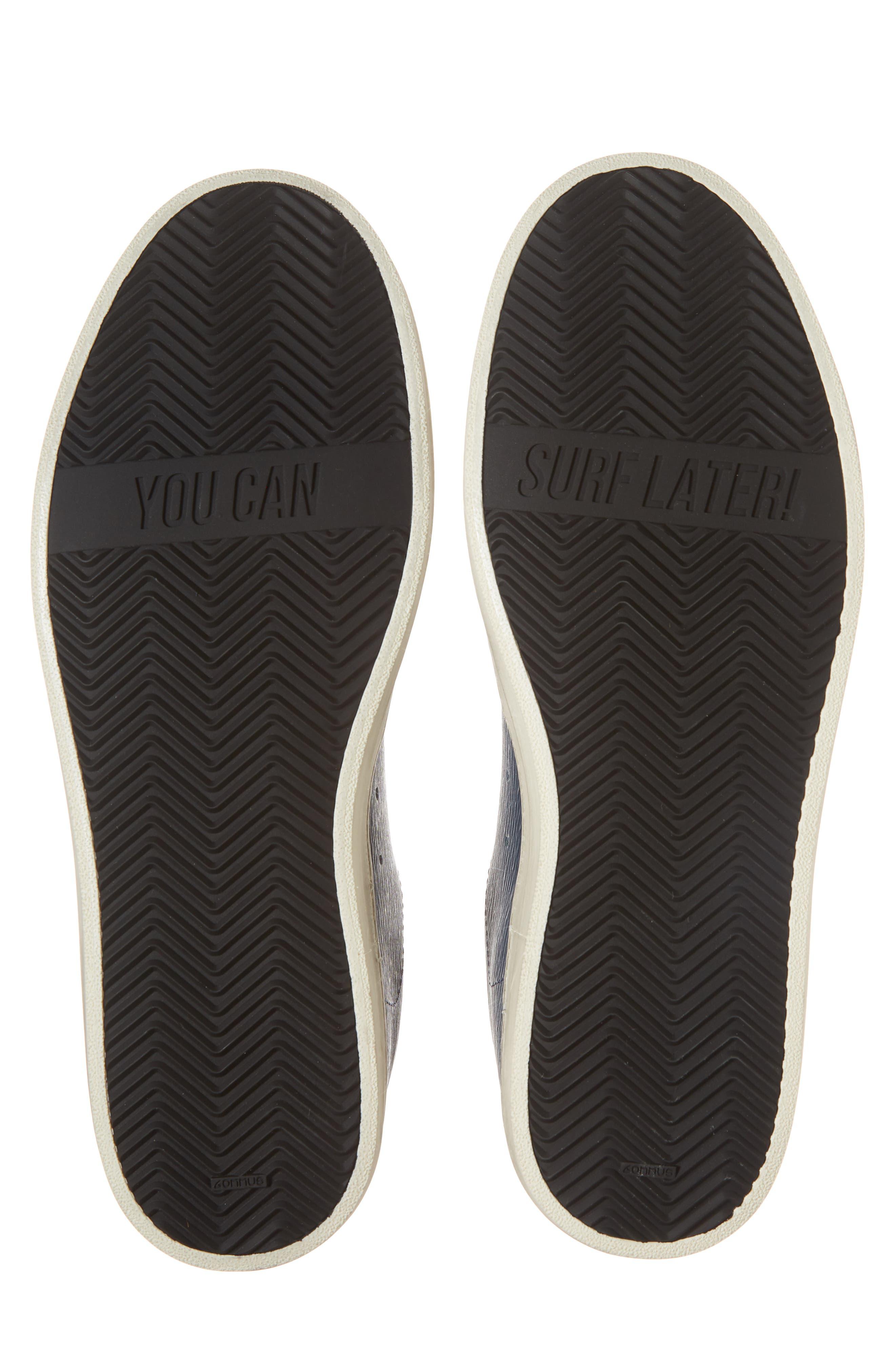 John Low Top Sneaker,                             Alternate thumbnail 6, color,                             Navy