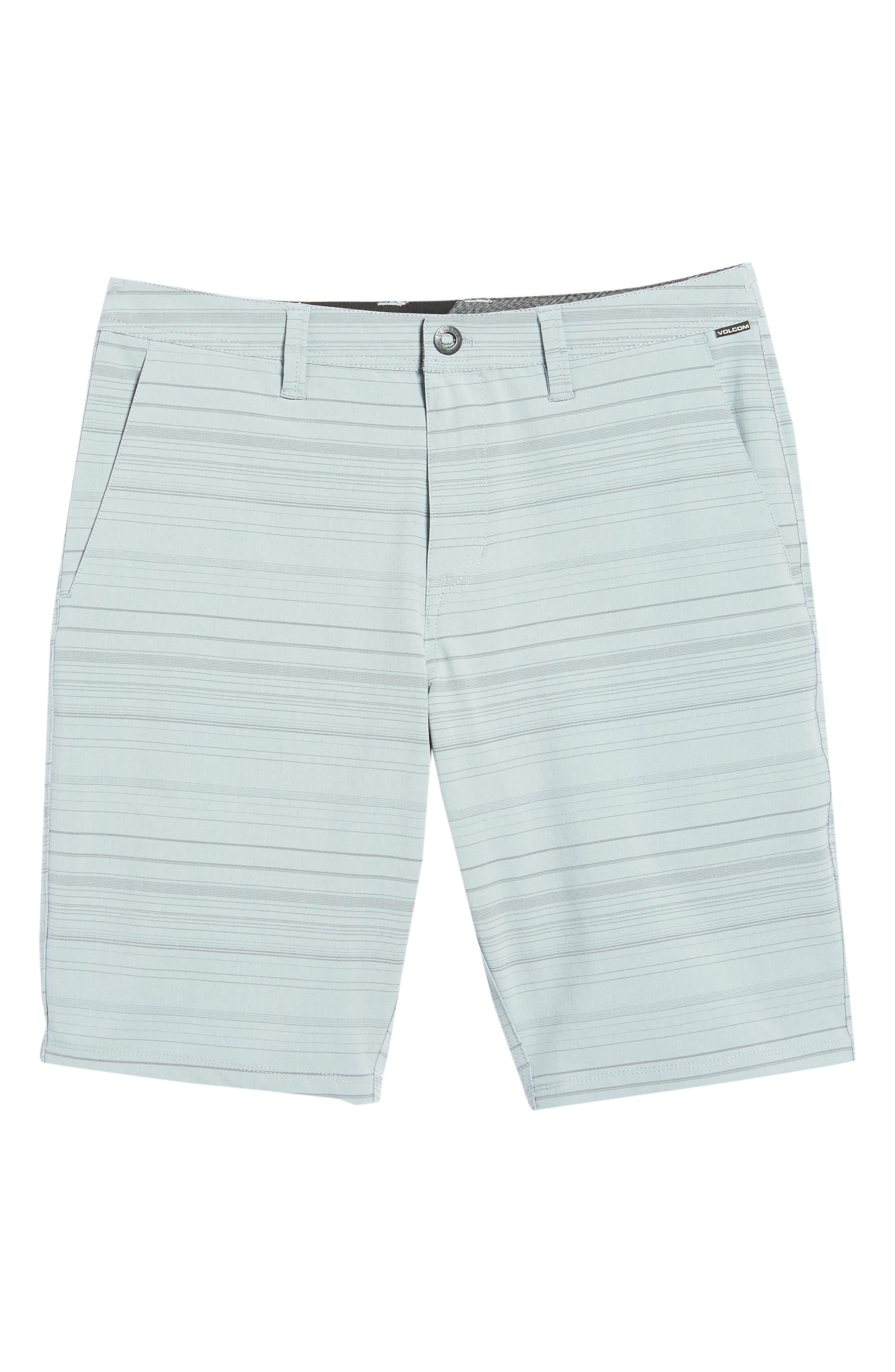 Surf N' Turf Mix Hybrid Shorts,                             Alternate thumbnail 6, color,                             Lead