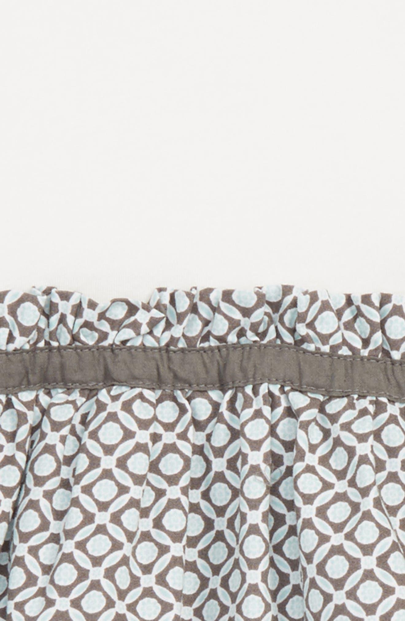Geo Dress,                             Alternate thumbnail 2, color,                             White