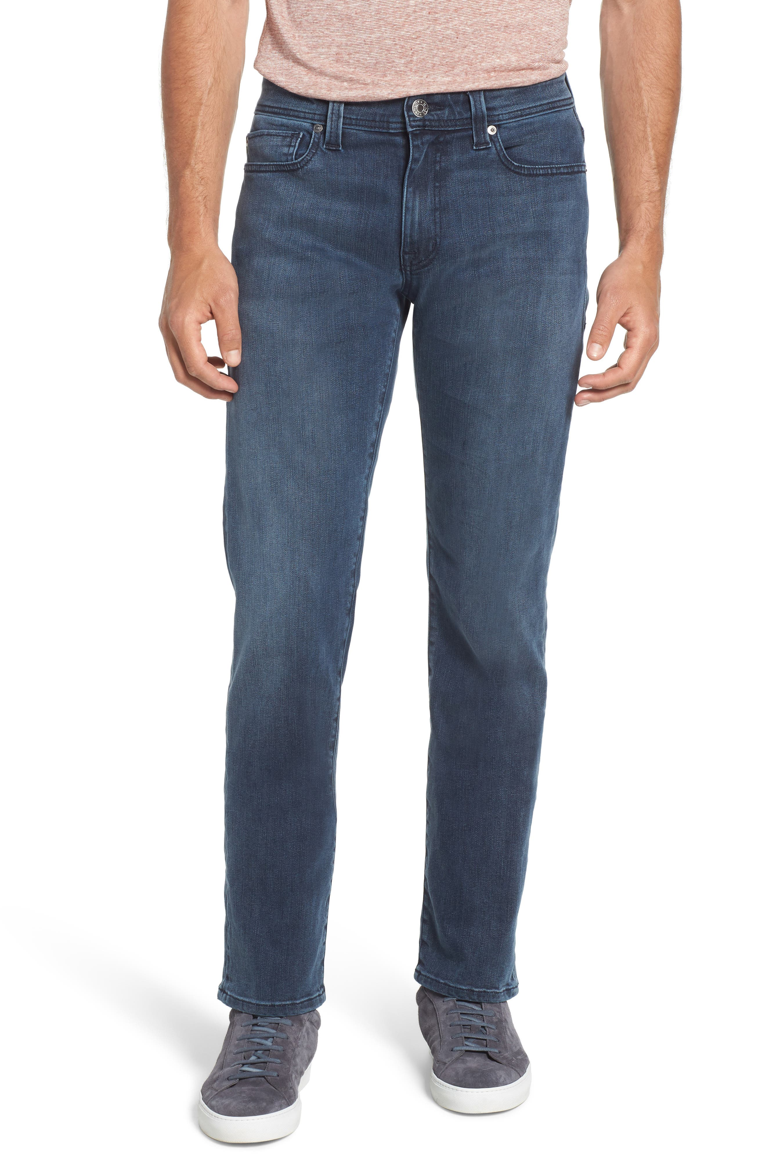 Jimmy Slim Straight Leg Jeans,                             Main thumbnail 1, color,                             Lexicon