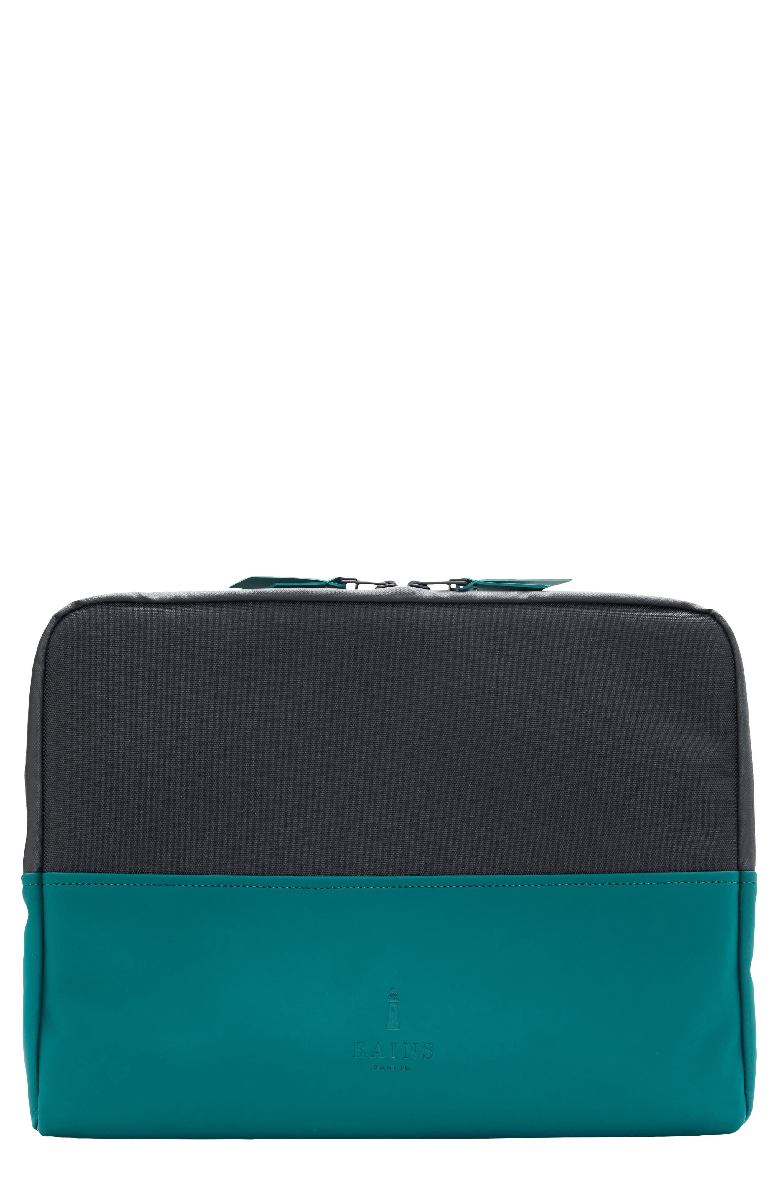 13-Inch Laptop Sleeve,                             Main thumbnail 1, color,                             Dark Teal