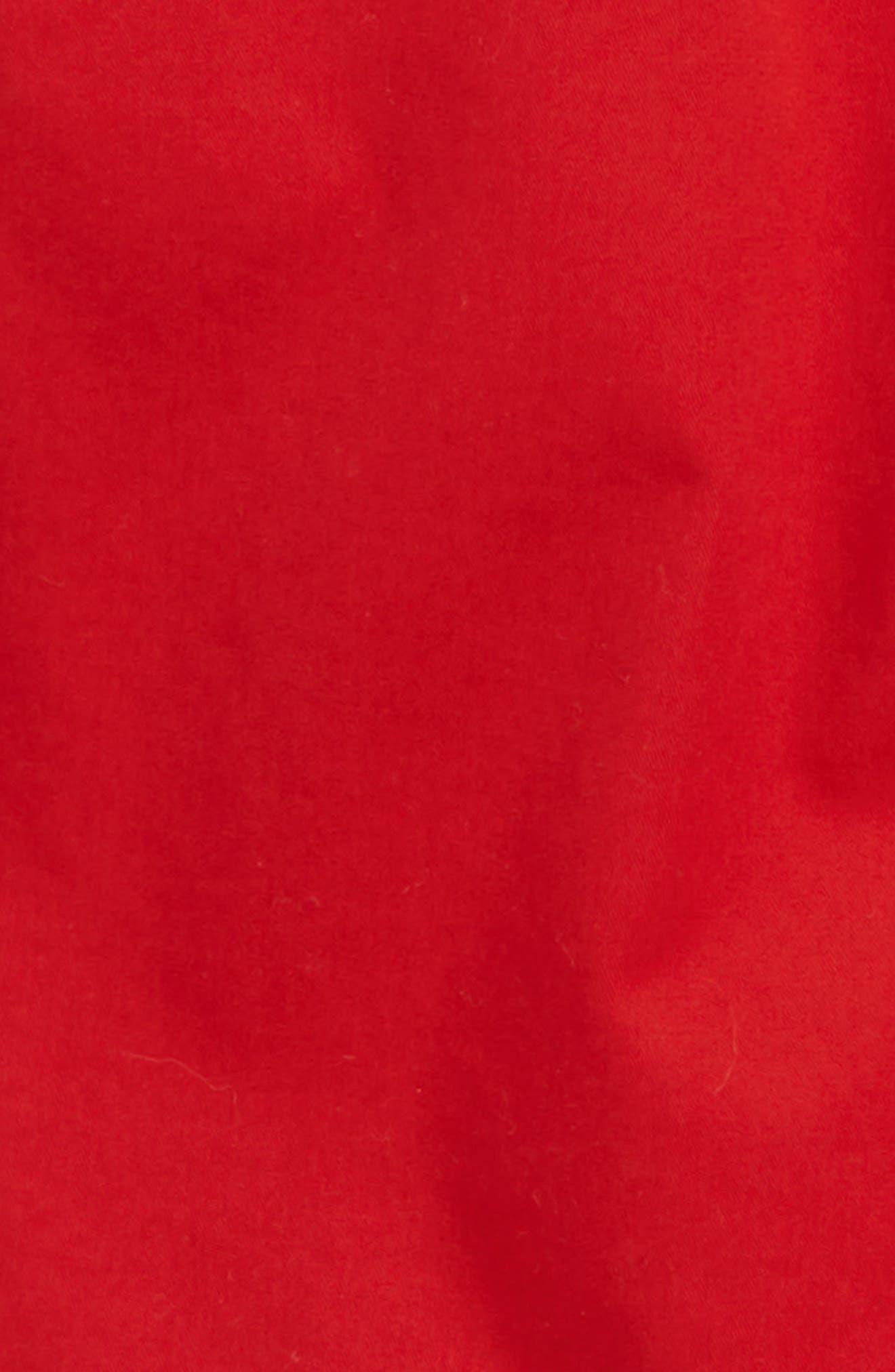 Chino Shorts,                             Alternate thumbnail 2, color,                             Red Samba