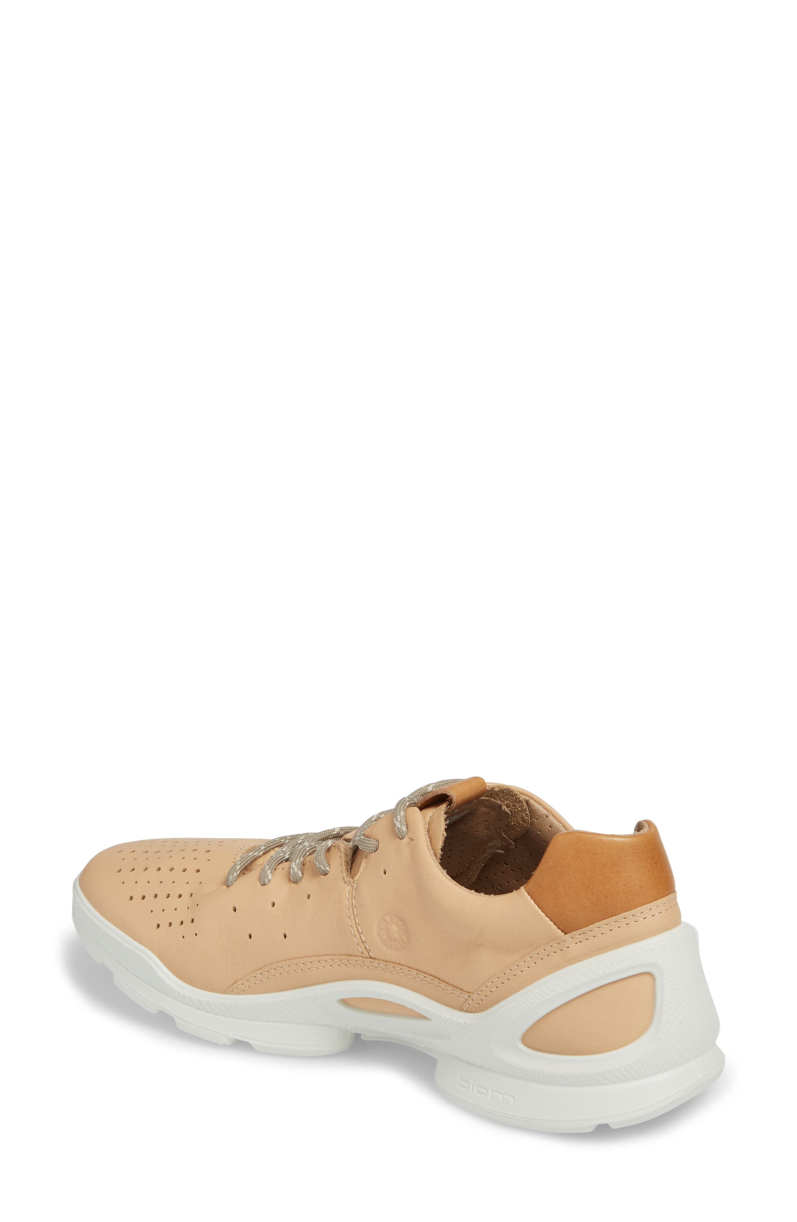 Biom Street Sneaker,                             Alternate thumbnail 2, color,                             Powder Leather