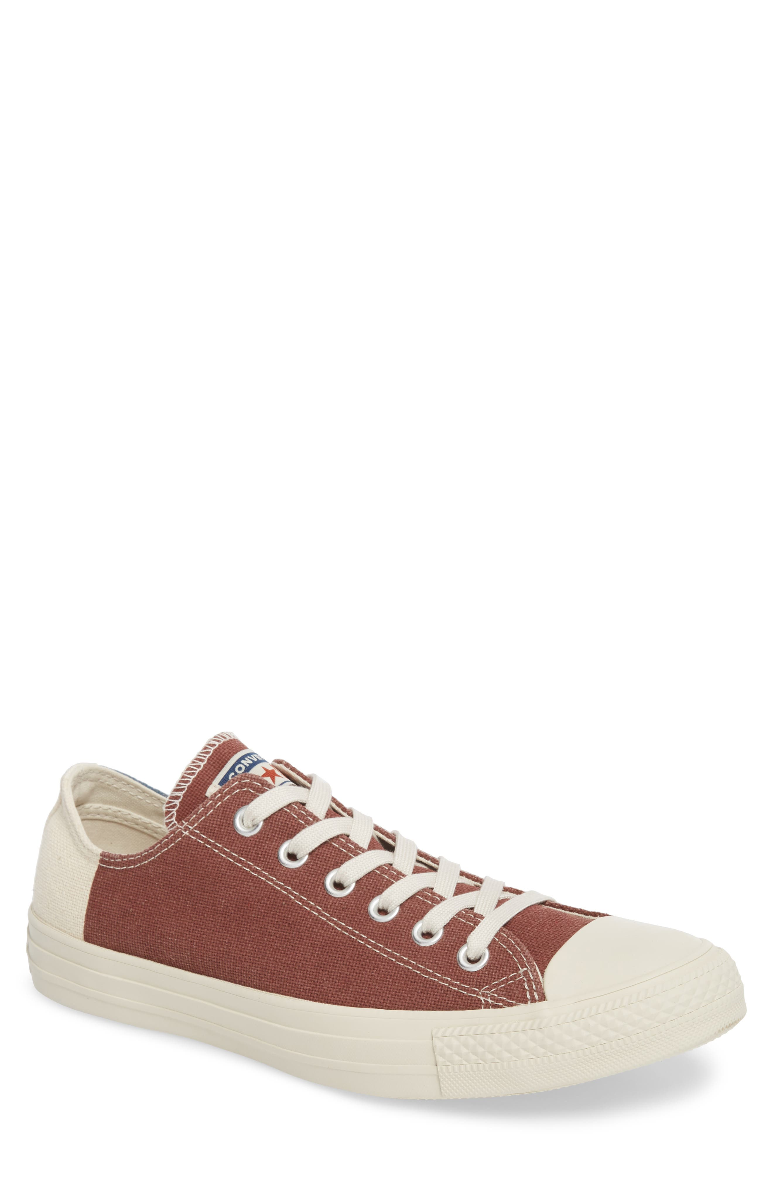 Chuck Taylor<sup>®</sup> All Star<sup>®</sup> Jute Americana Low Top Sneaker,                         Main,                         color, Aegean Storm