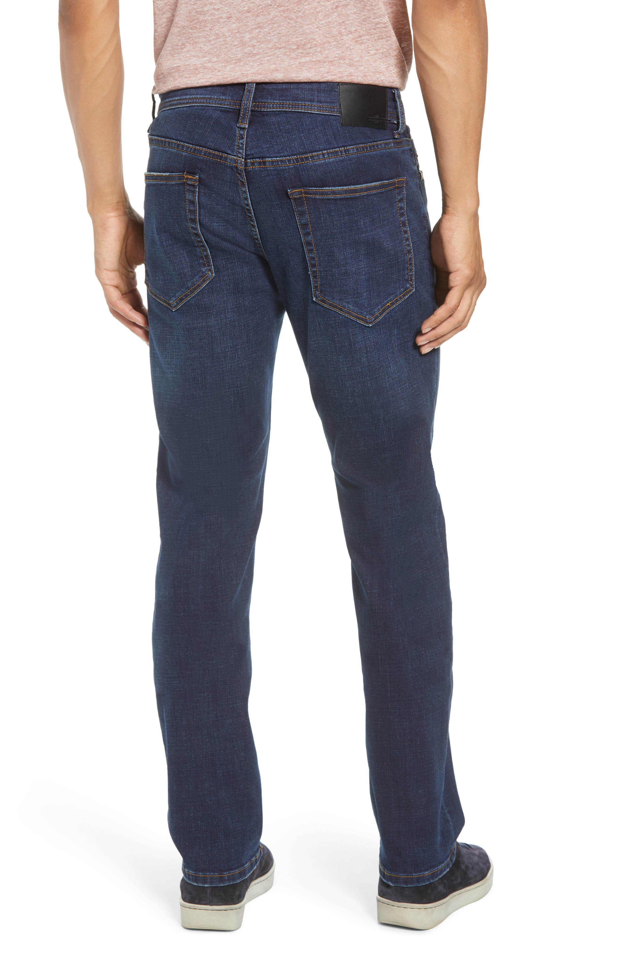 Relaxed Fit Jeans,                             Alternate thumbnail 2, color,                             Navajo Dark