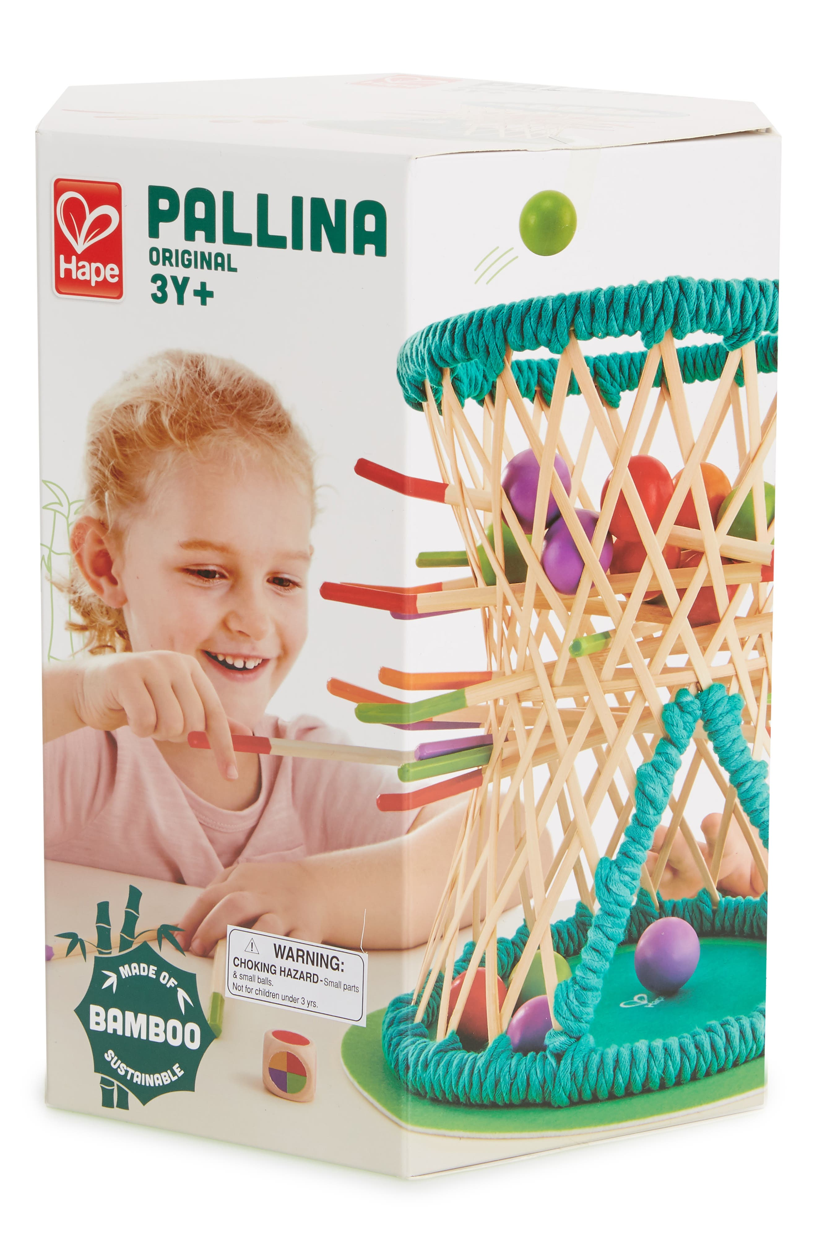 Pallina Original 39-Piece Stick and Ball Game,                         Main,                         color, Green