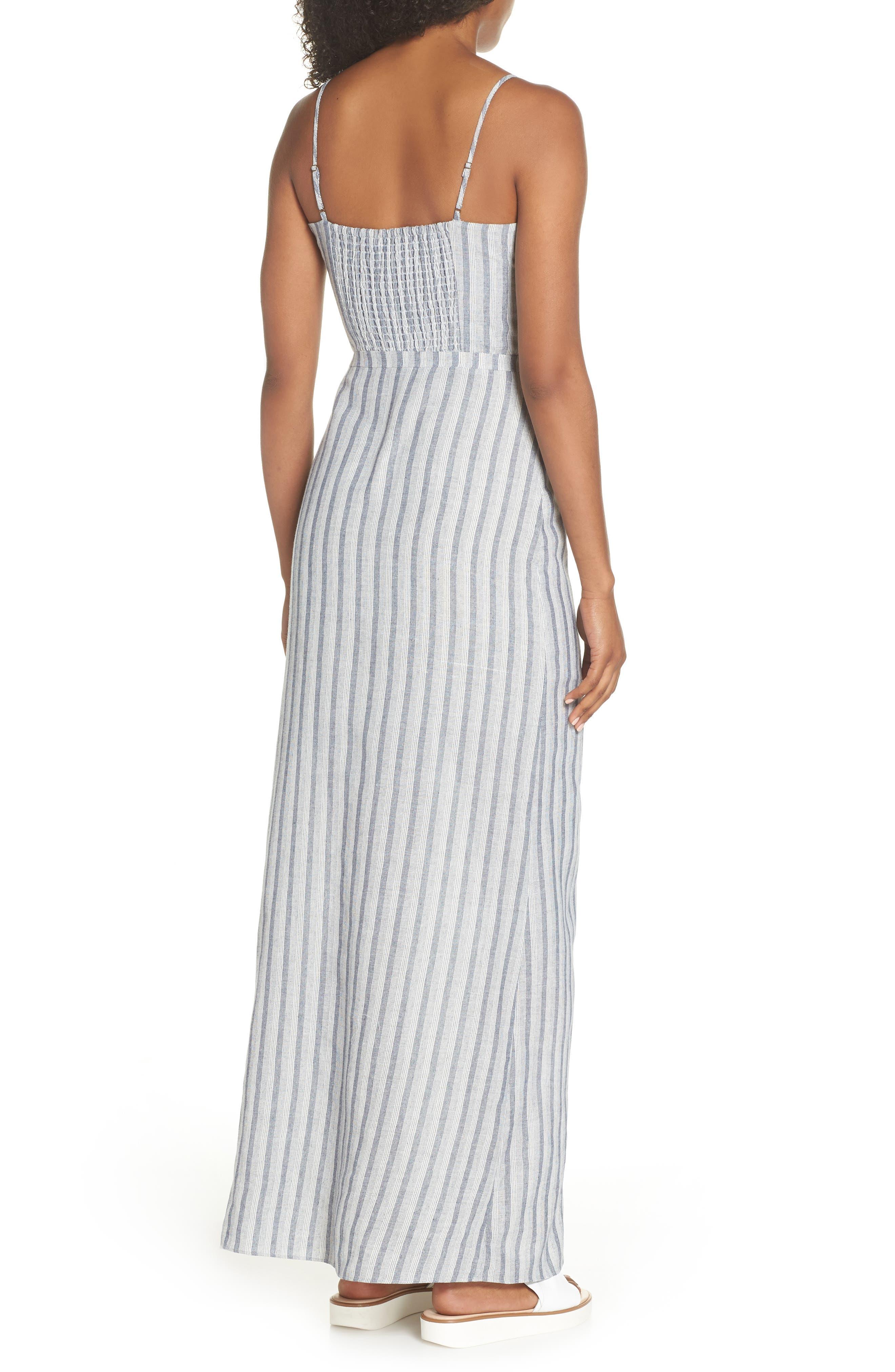 Krisa Stripe Maxi Dress,                             Alternate thumbnail 2, color,                             Multi