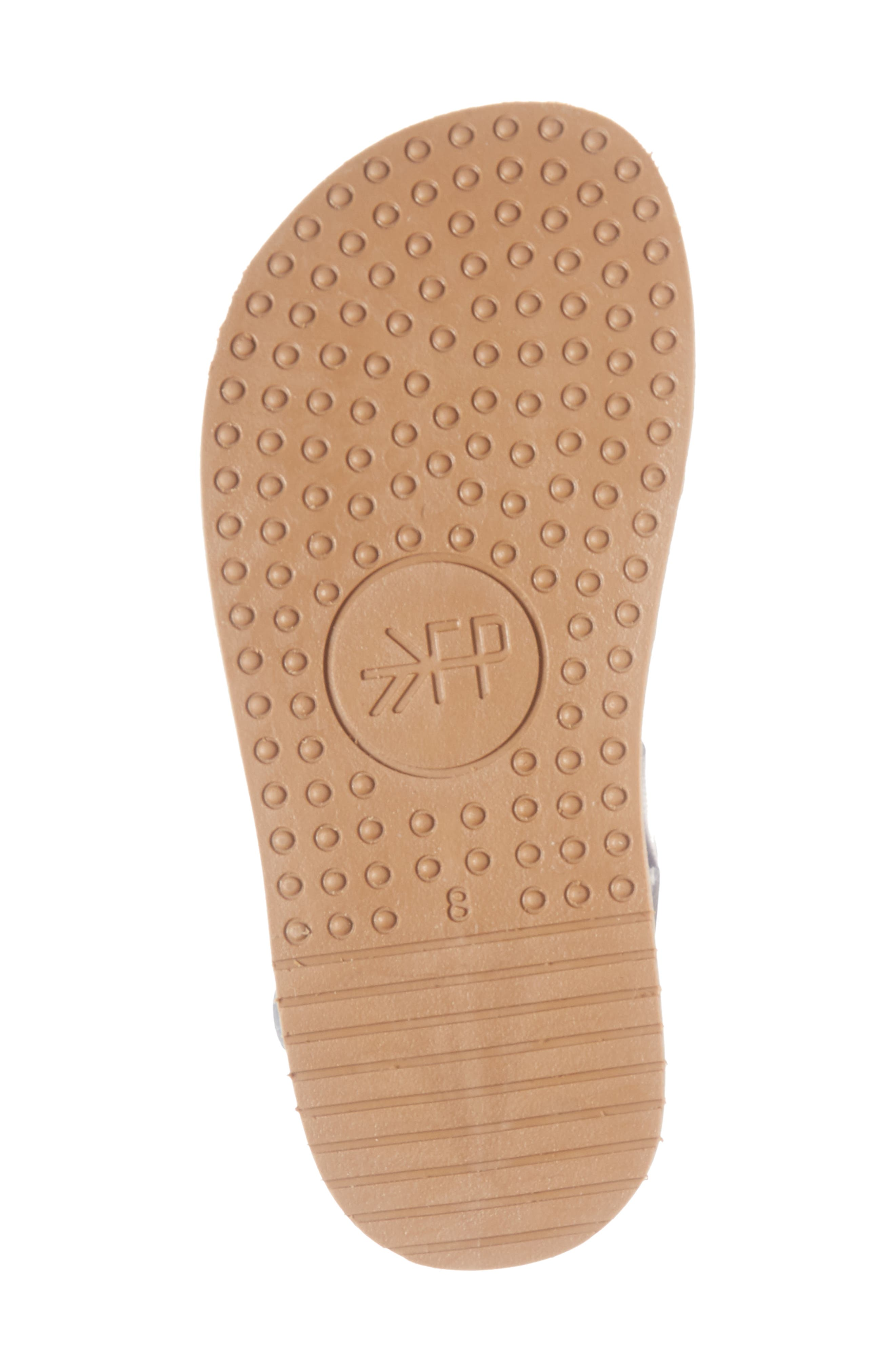 Malibu Water Resistant Sandal,                             Alternate thumbnail 6, color,                             Navy