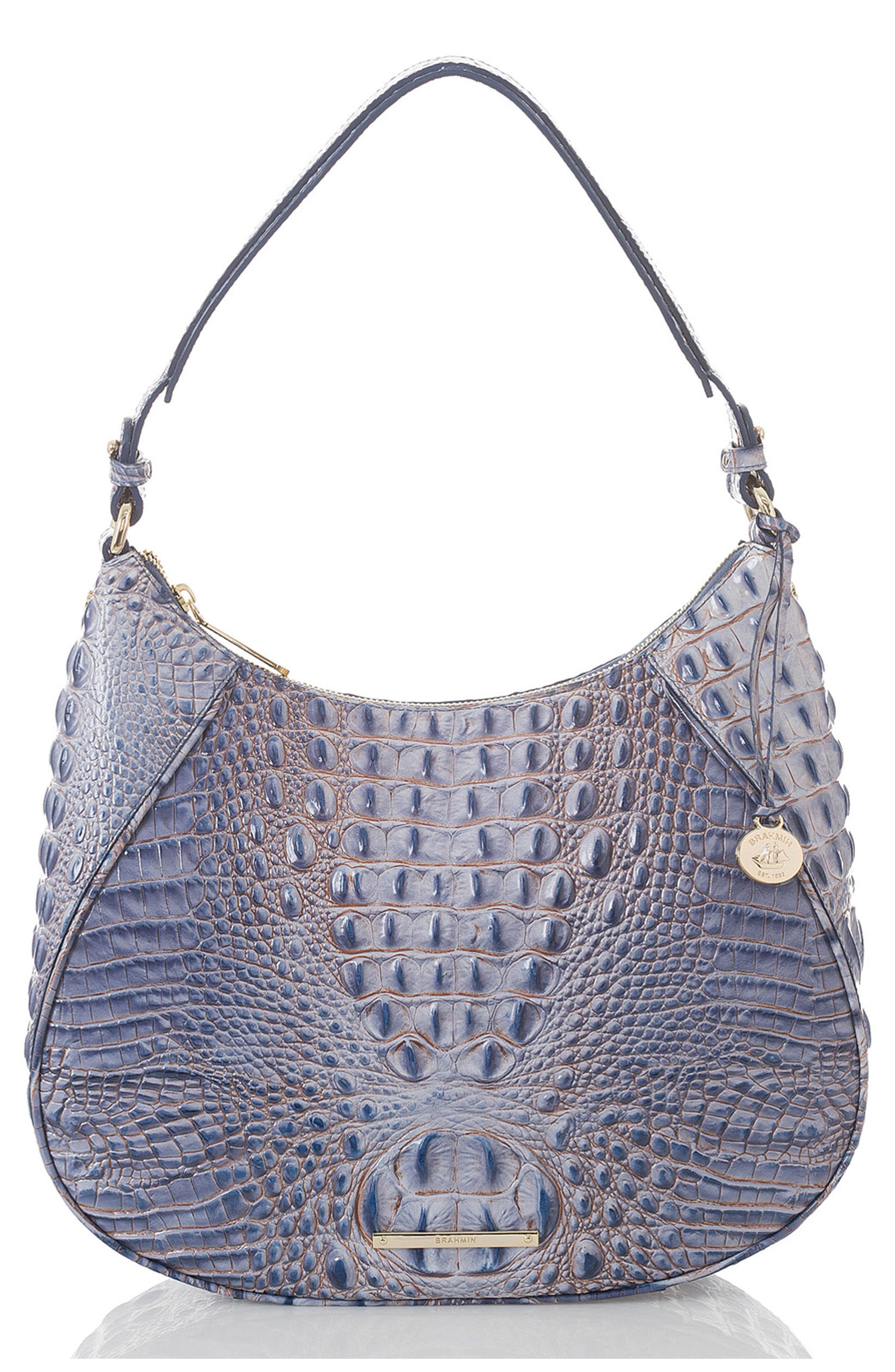 Melbourne Amira Shoulder Bag,                             Main thumbnail 1, color,                             Washed Indigo